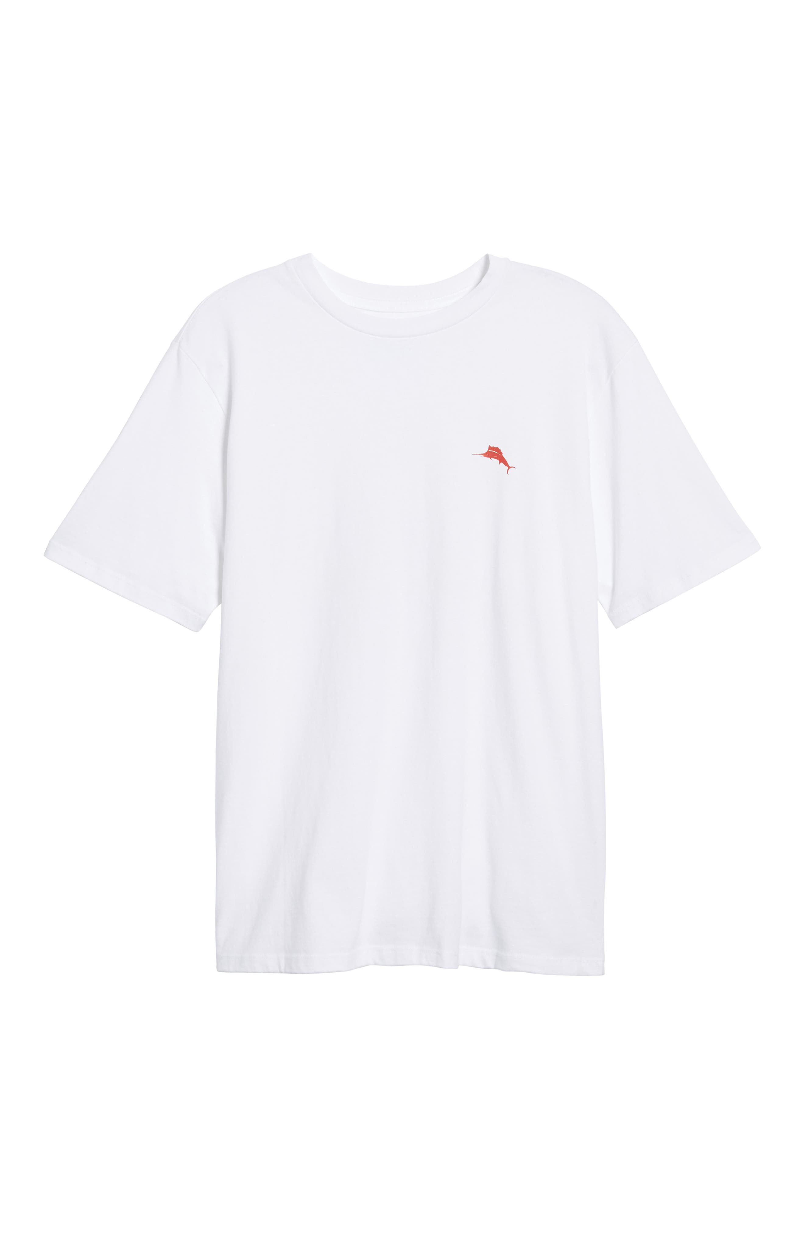 Rum Rum Rudolph T-Shirt,                             Alternate thumbnail 6, color,                             White