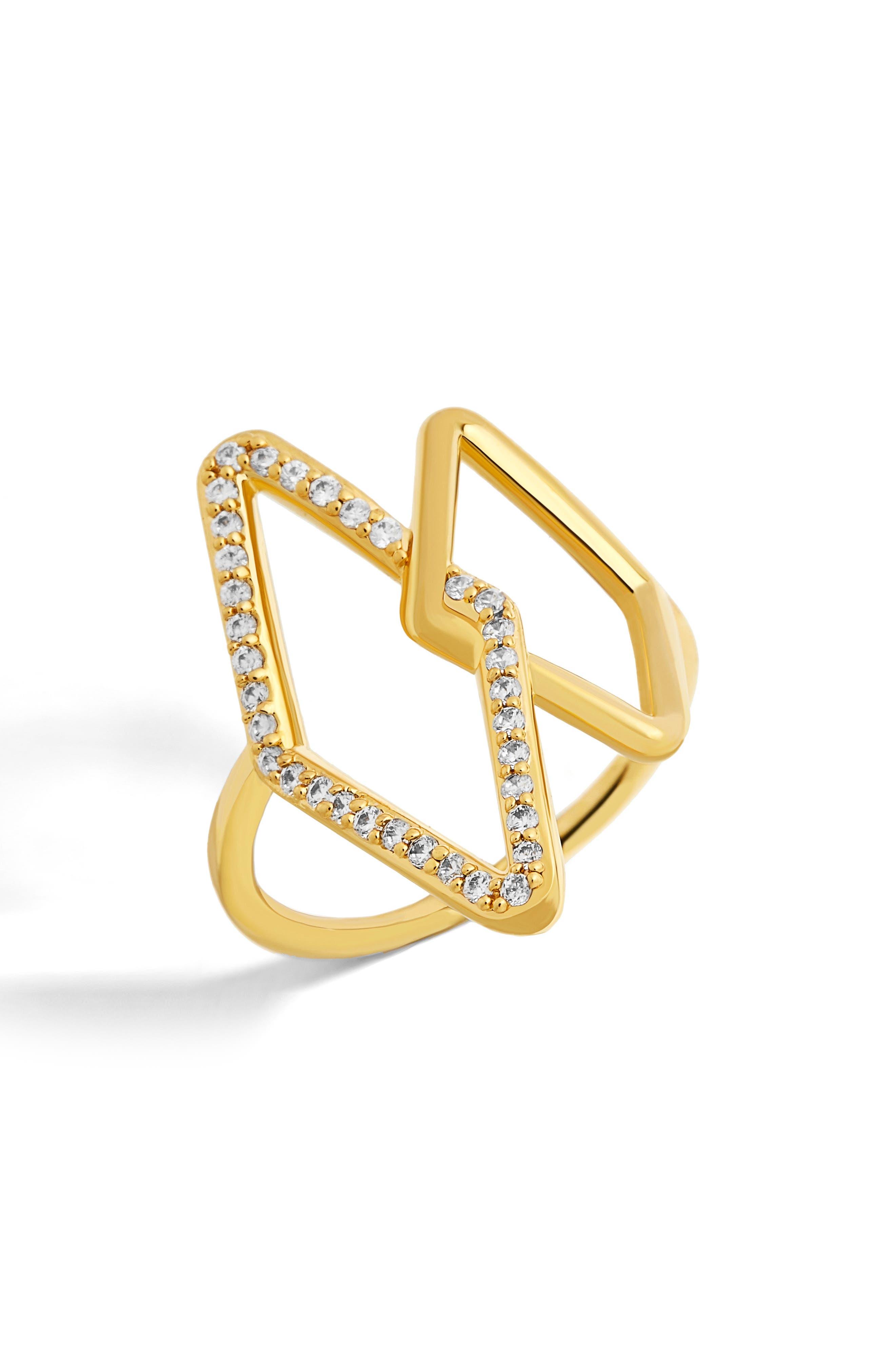 Main Image - BaubleBar Triangulum Ring