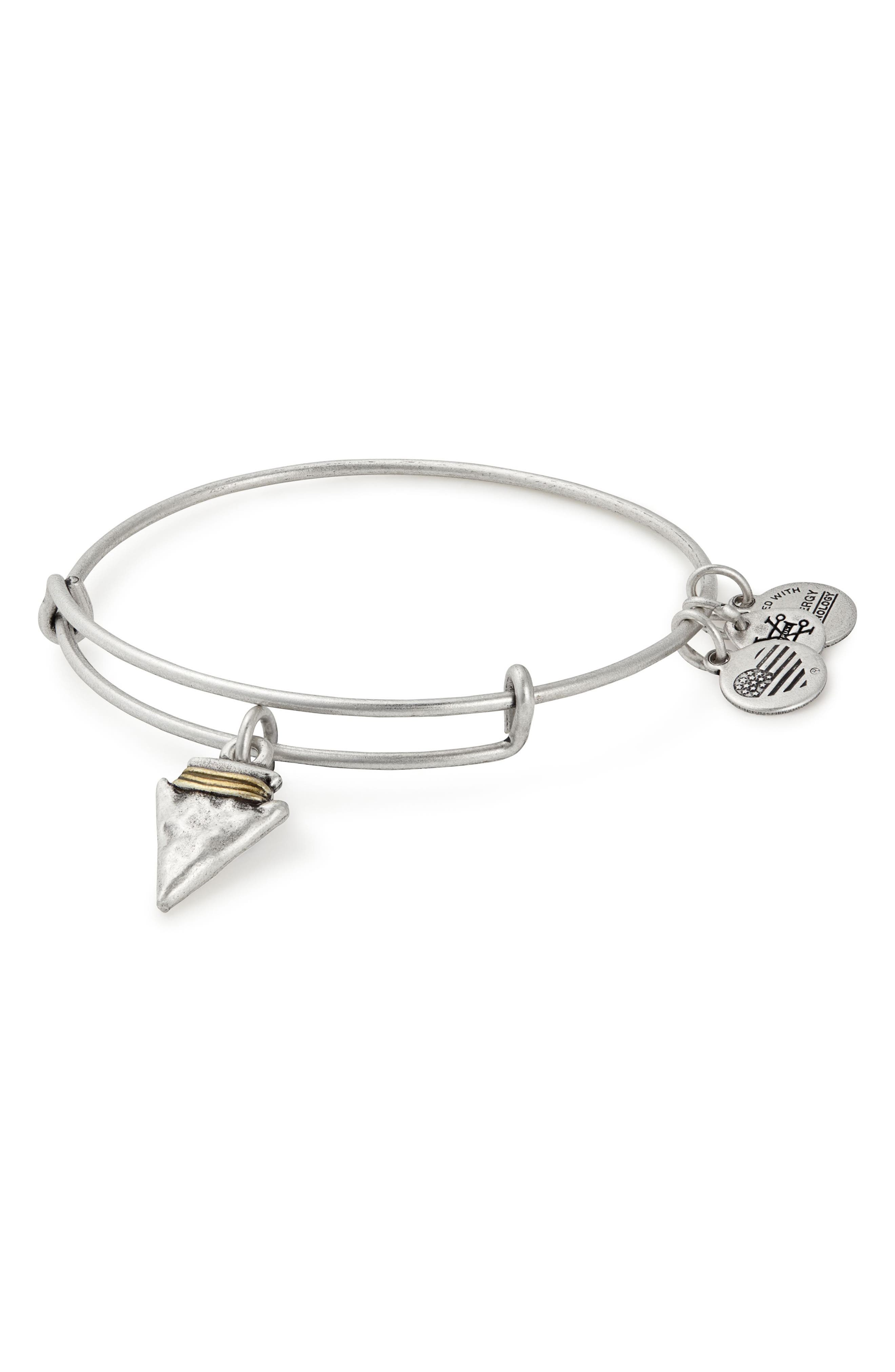 Alternate Image 1 Selected - Alex and Ani Arrowhead Expandable Wire Bangle