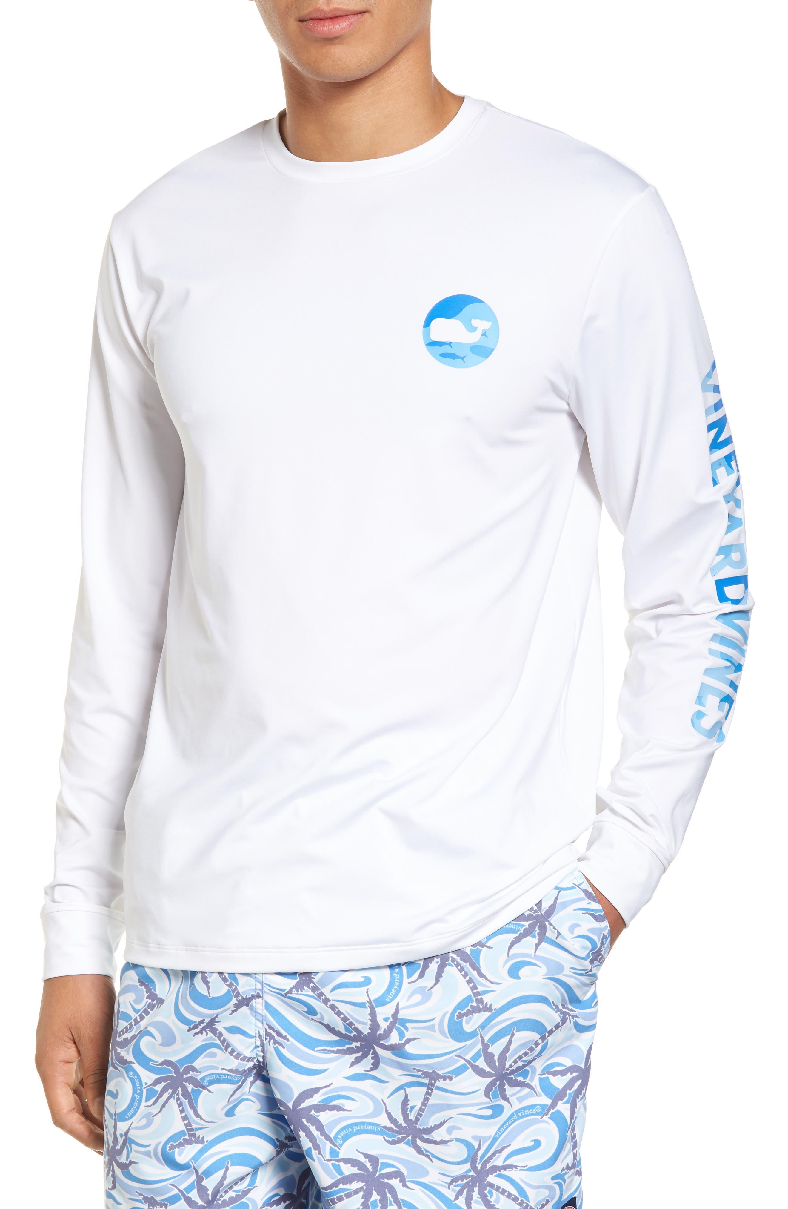 Alternate Image 2  - vineyard vines Marlin Whale Dot Performance T-Shirt