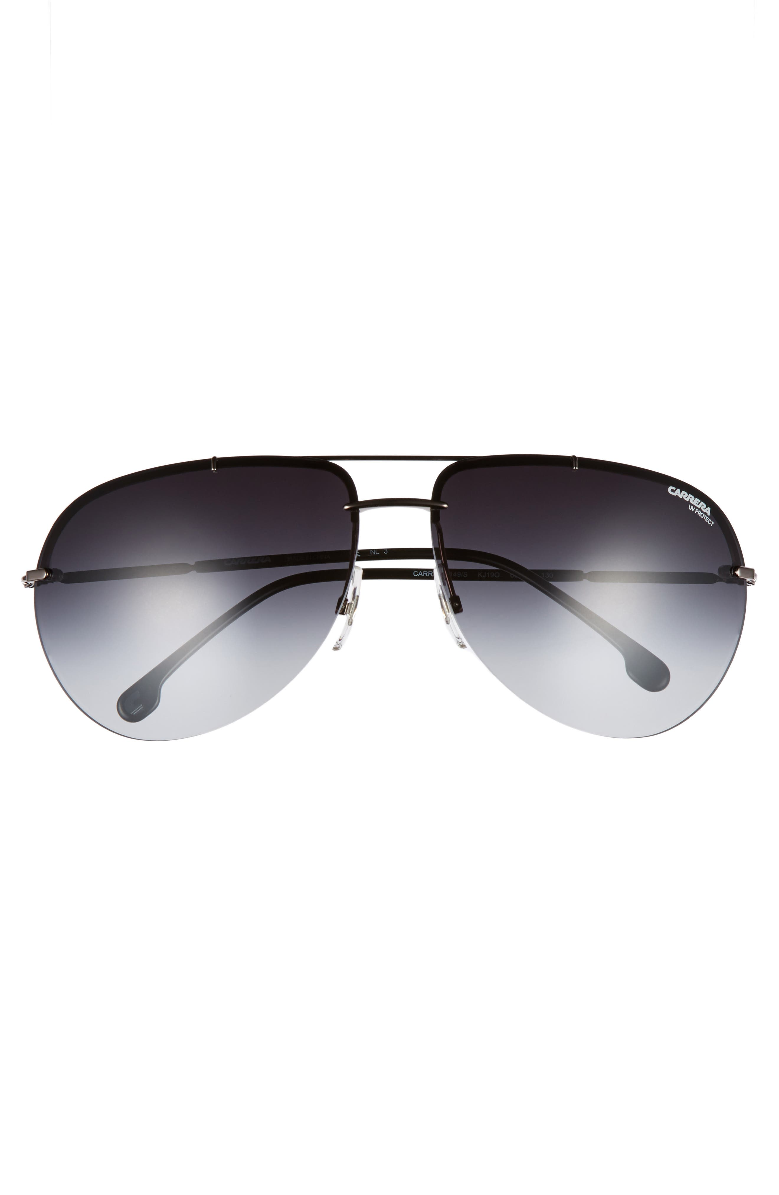 Alternate Image 2  - Carrera Eyewear 149S 65mm Polarized Aviator Sunglasses