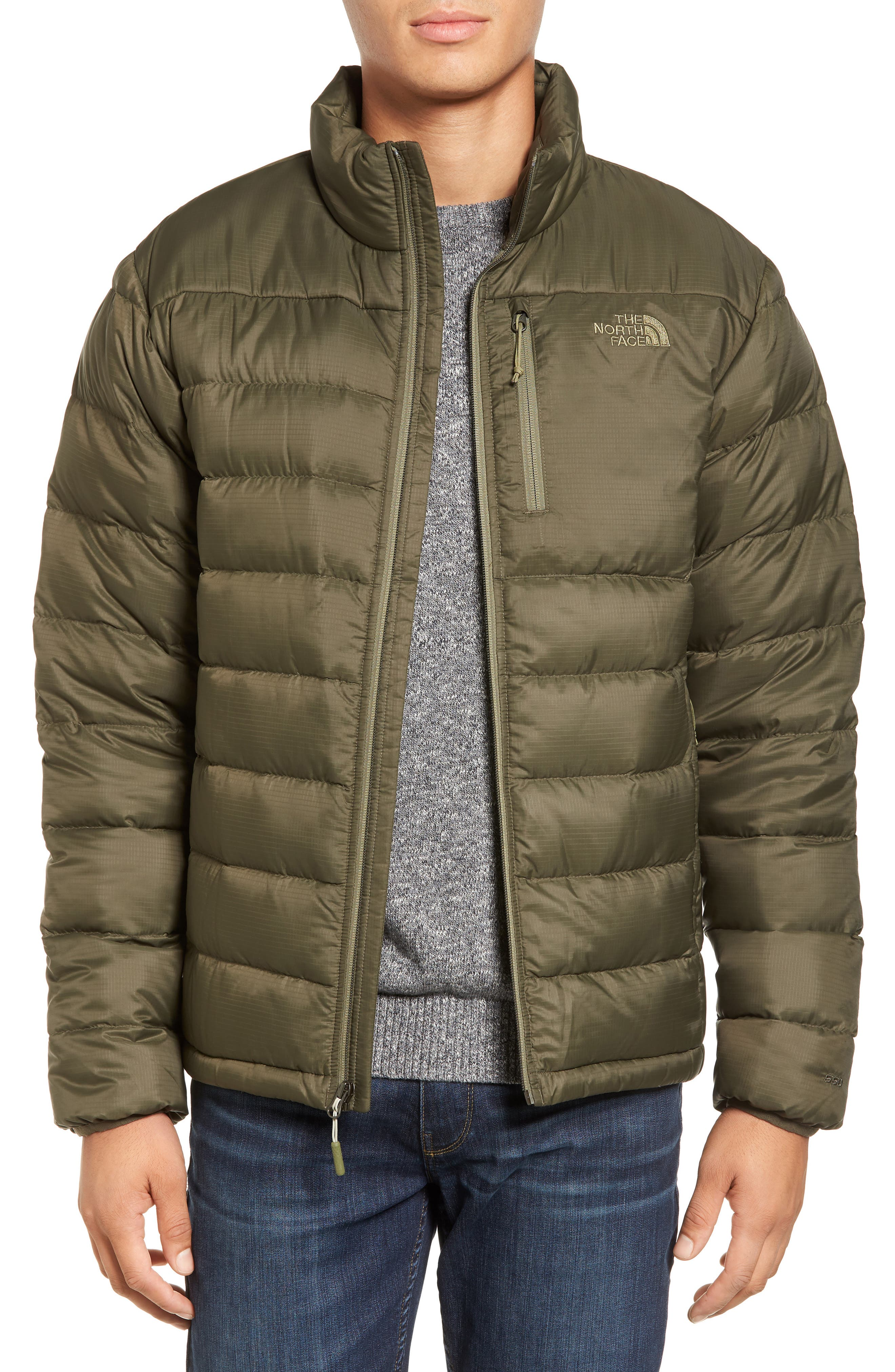 Alternate Image 1 Selected - The North Face 'Aconcagua' Goose Down Jacket