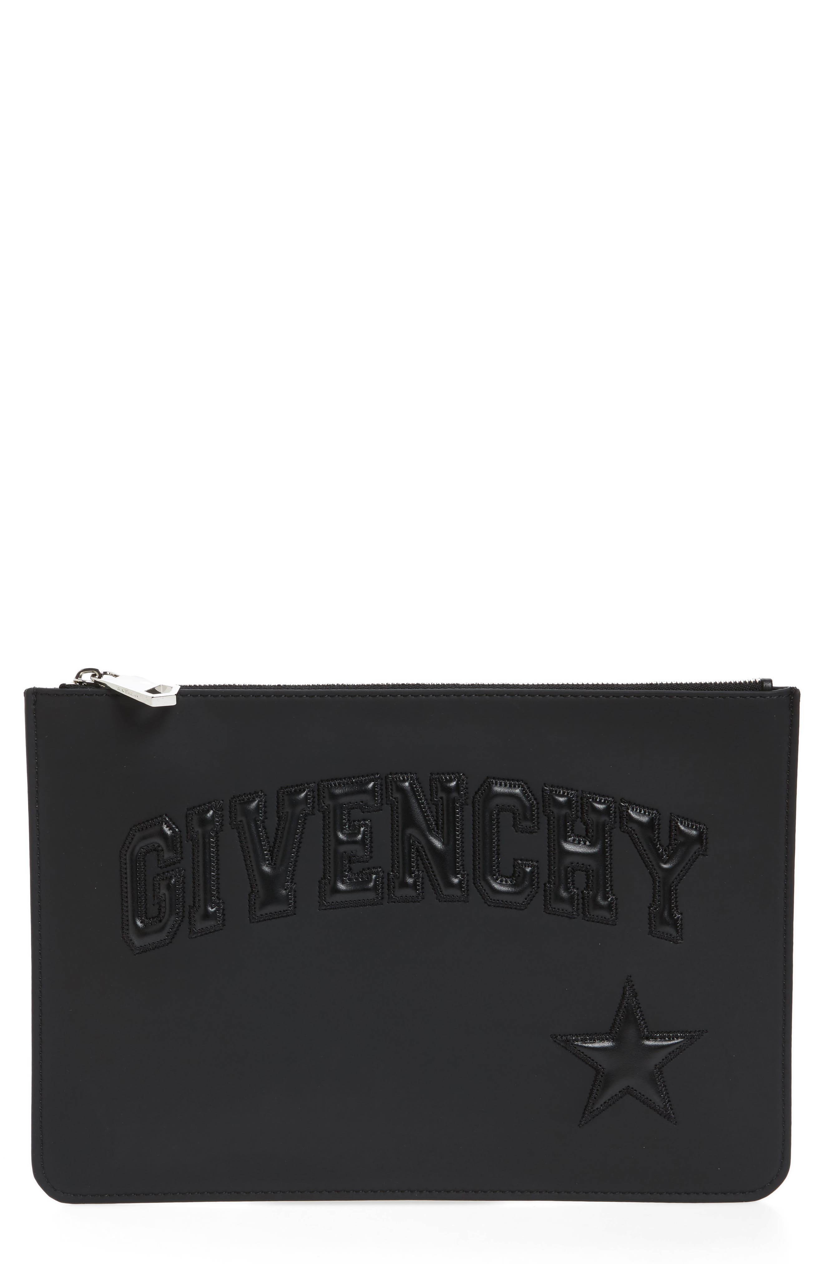 Alternate Image 1 Selected - Givenchy Medium Star Logo Pouch