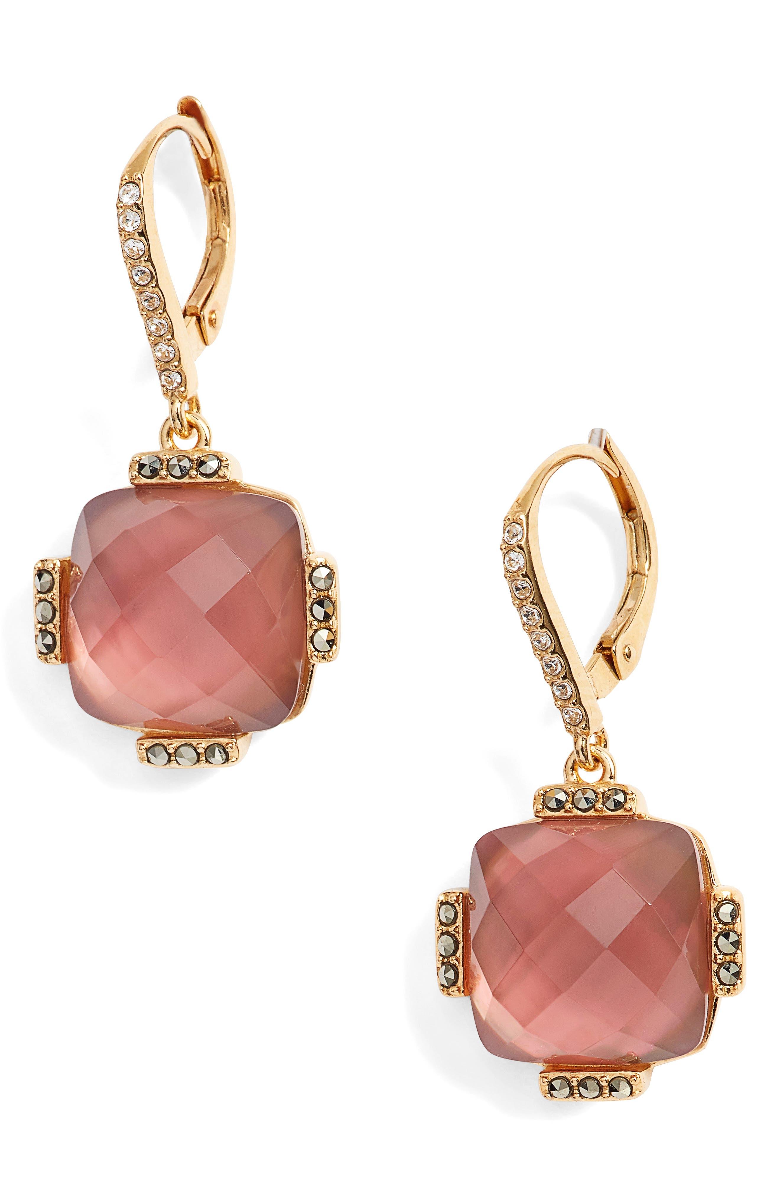 Judith Jack Doublet Drop Earrings
