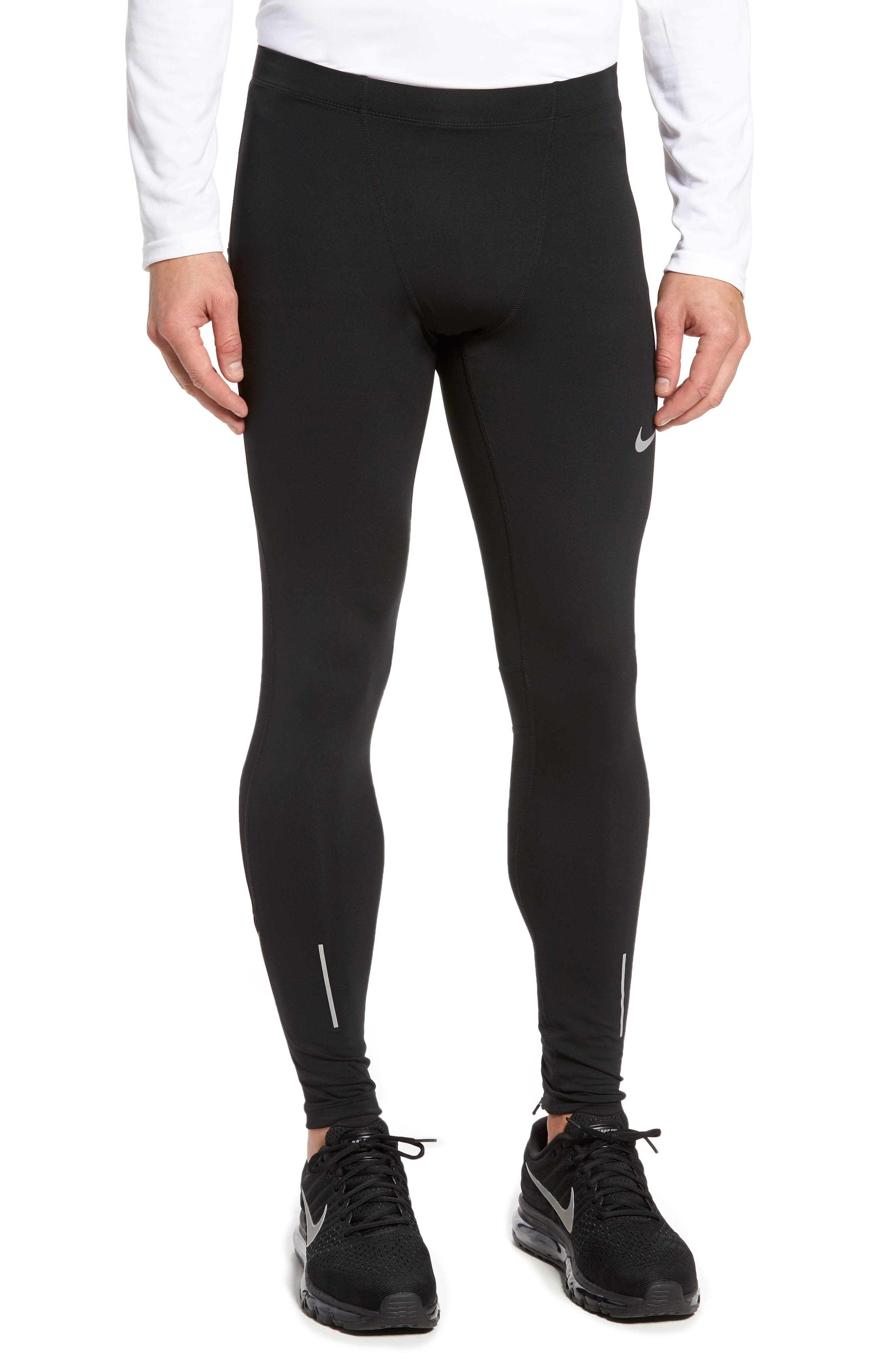 Therma Dry Running Tights,                         Main,                         color, Black