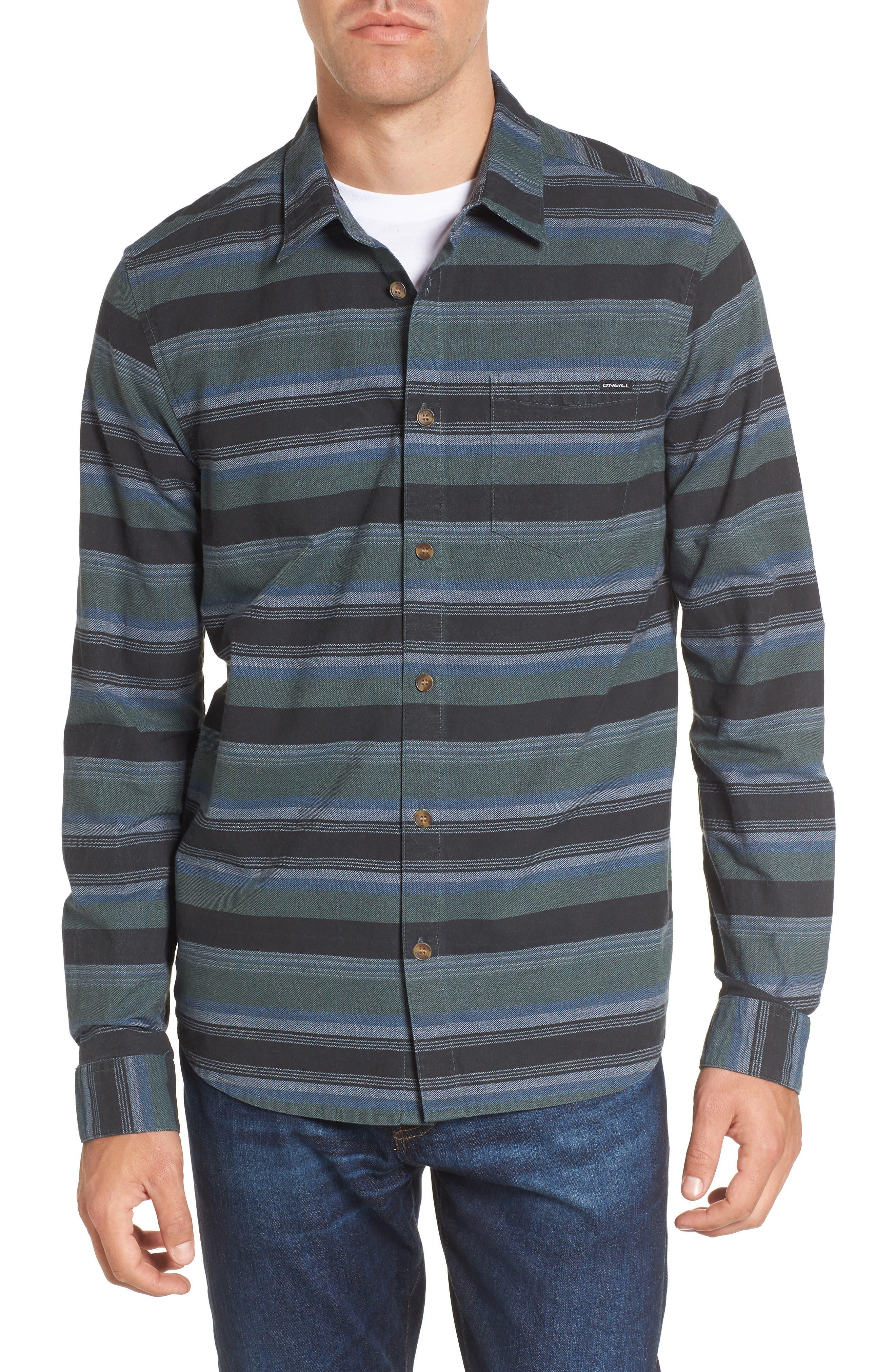 O'Neill Barton Stripe Woven Shirt