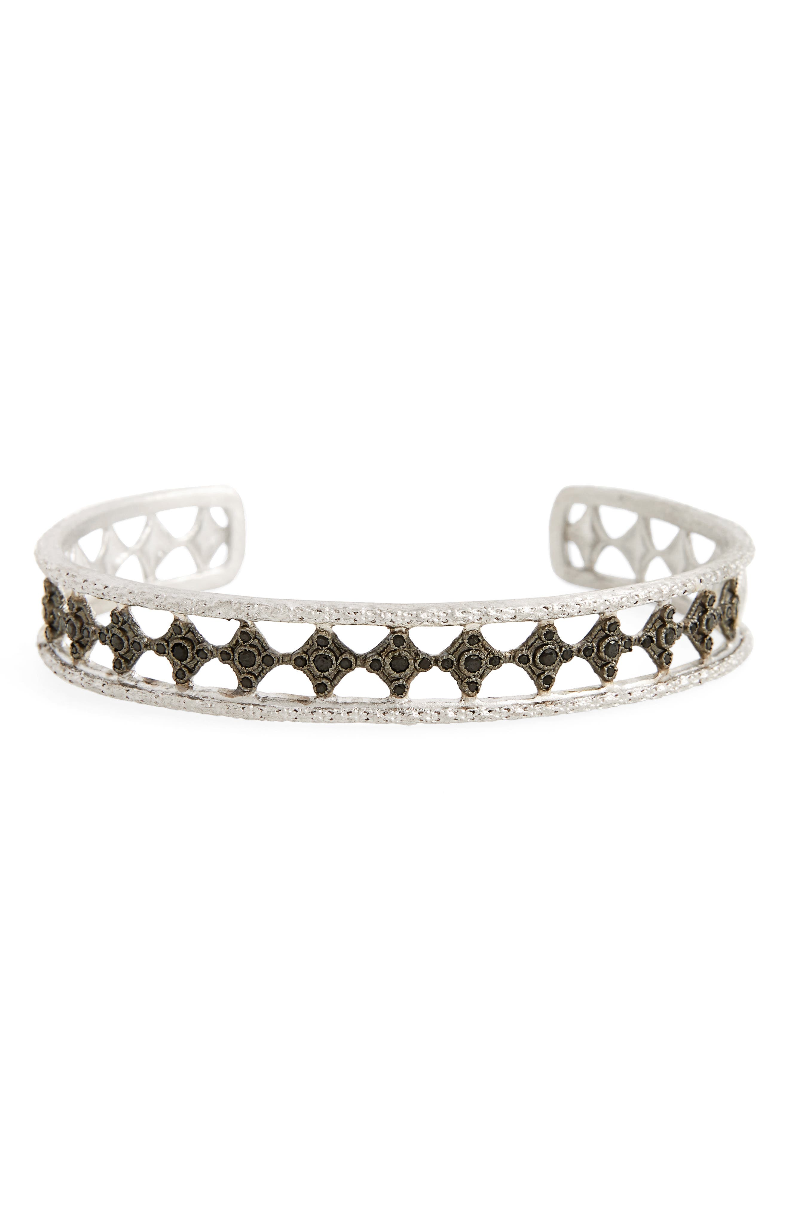 New World Eternity Cuff,                             Main thumbnail 1, color,                             Silver