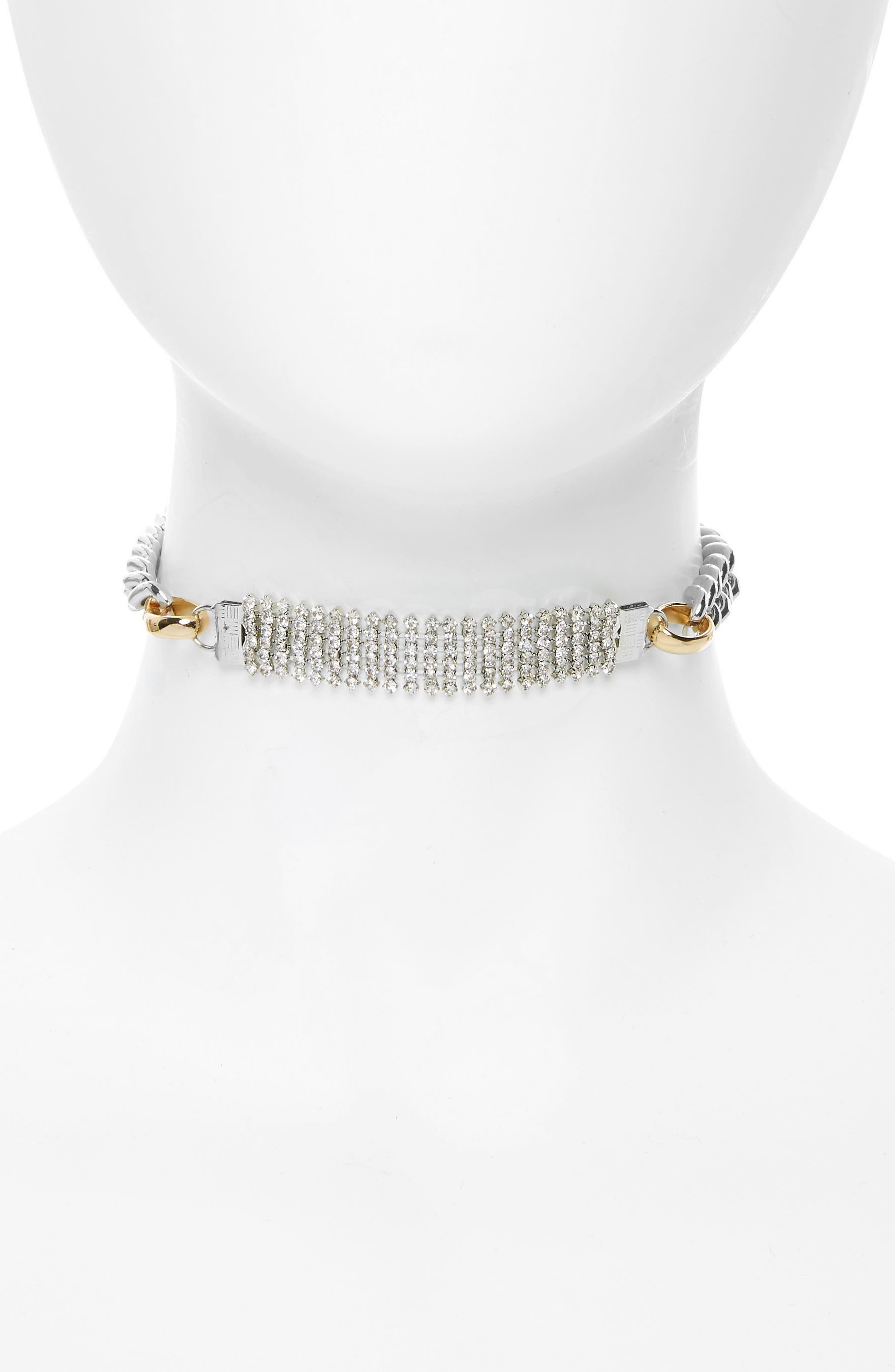 Main Image - BP. Crystal Chain Choker