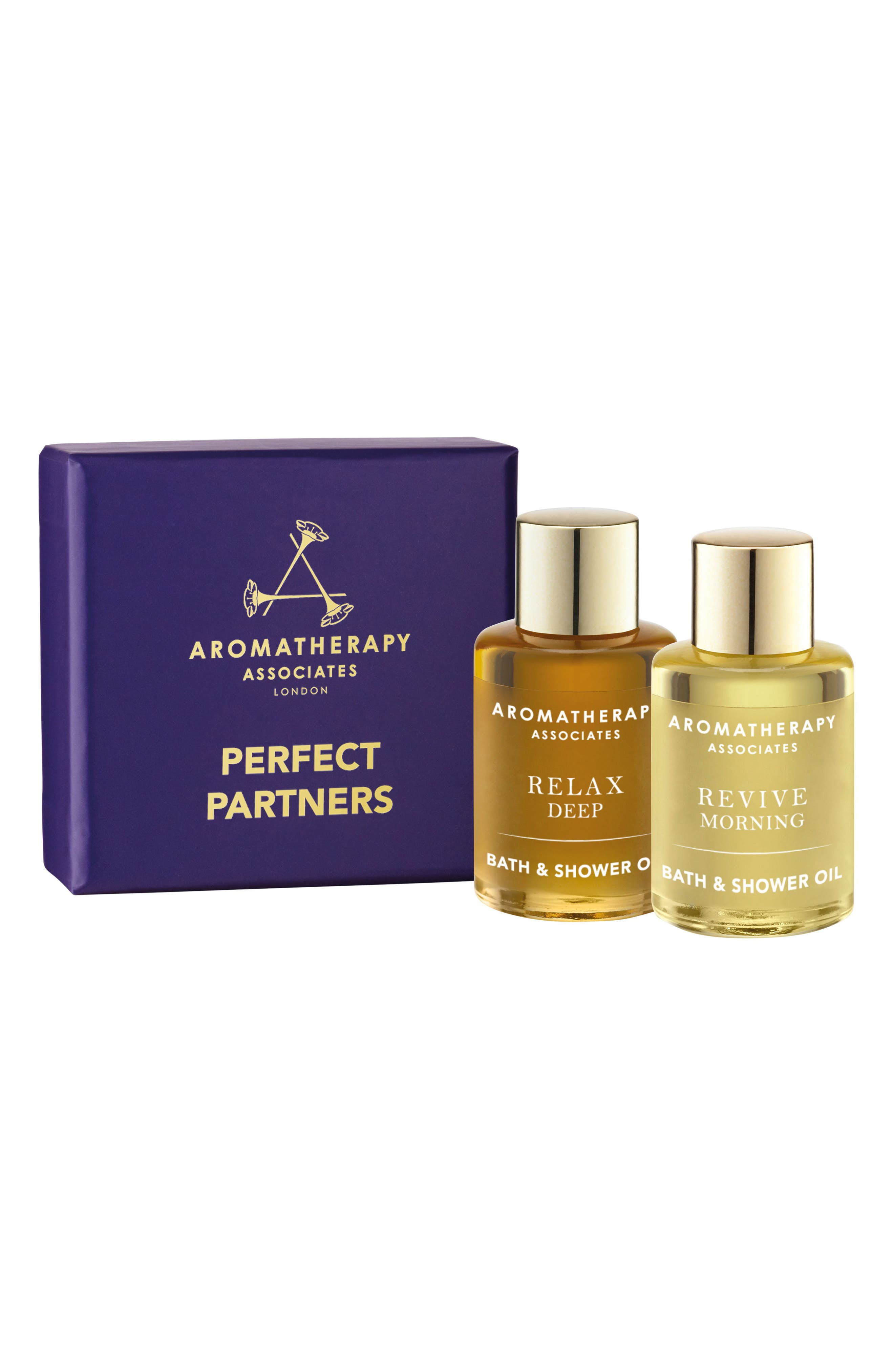 Alternate Image 1 Selected - Aromatherapy Associates Perfect Partners Bath & Shower Oil Duo