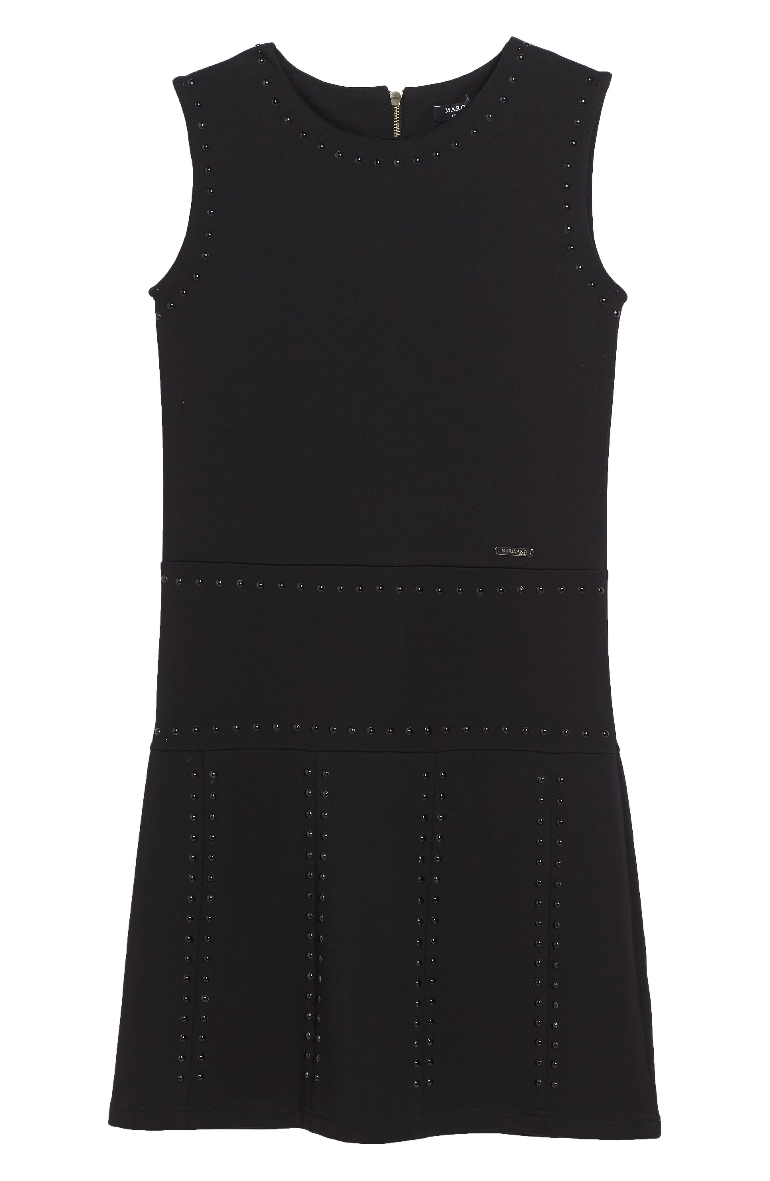 Main Image - Marciano Studded Sleeveless Dress (Big Girls)