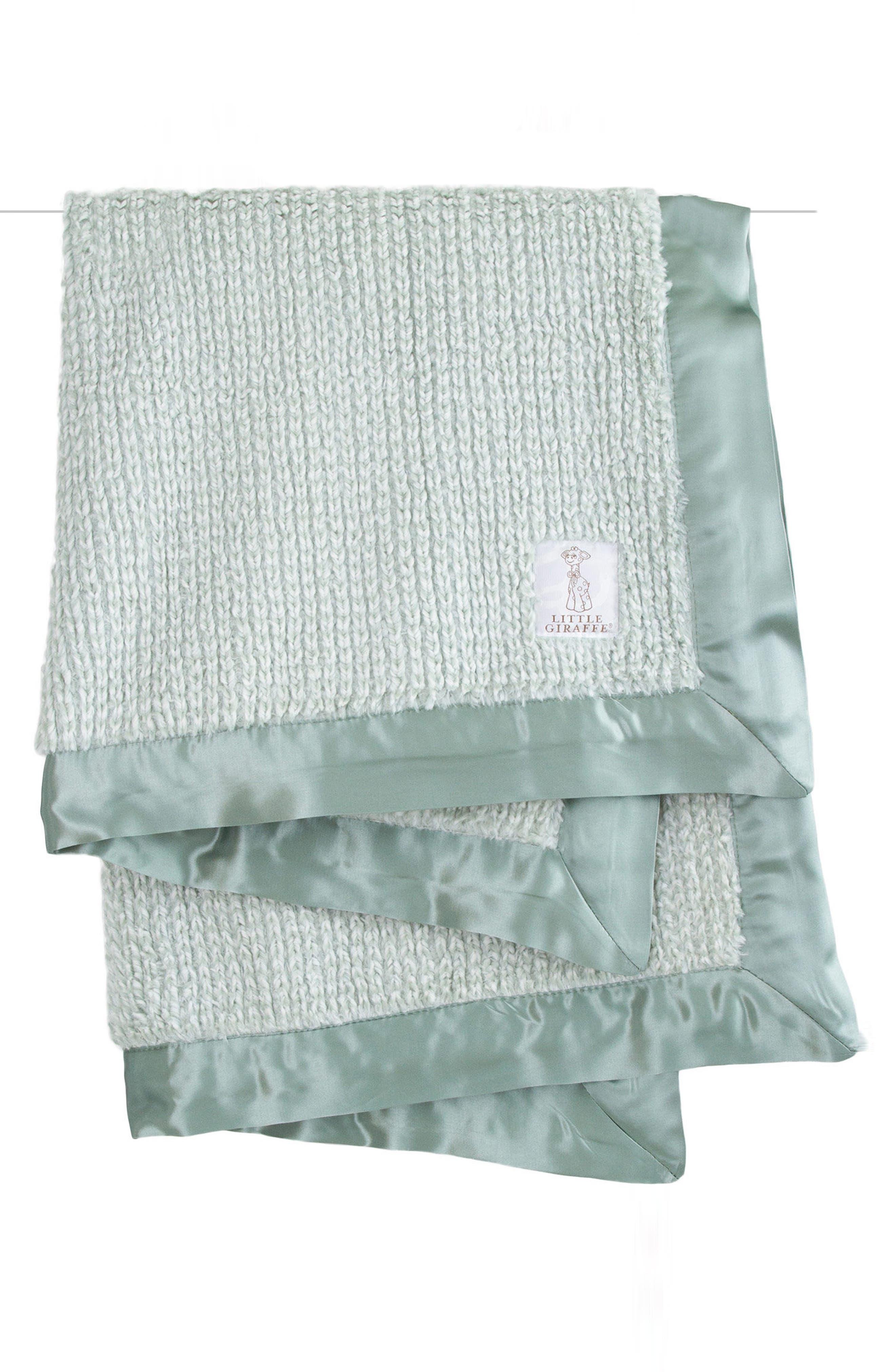 Main Image - Little Giraffe Luxe Herringbone Blanket