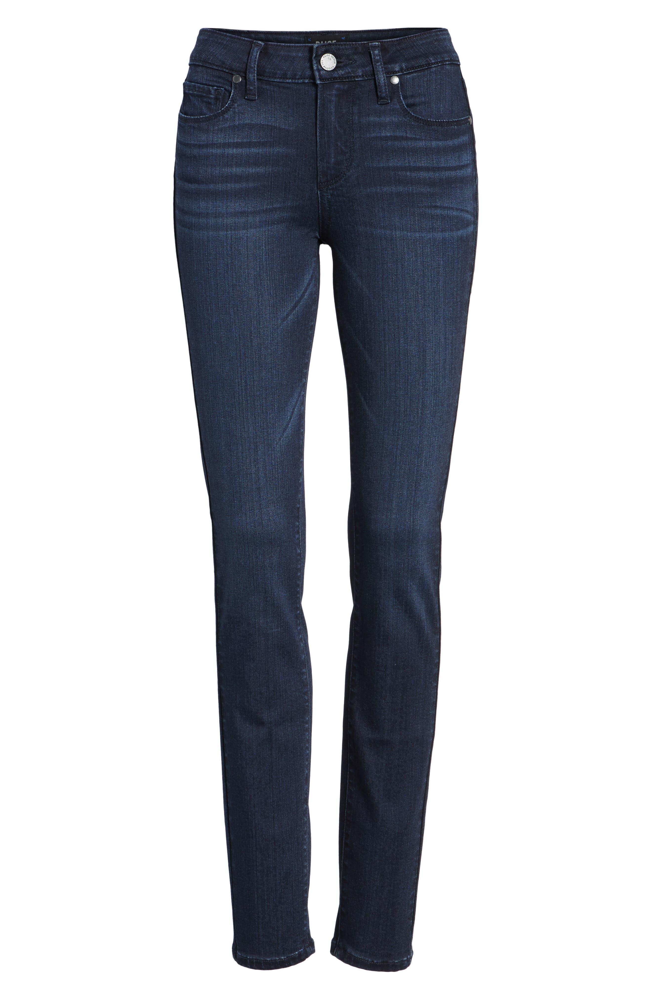 Alternate Image 7  - PAIGE Transcend - Verdugo Ultra Skinny Jeans (Hazen)