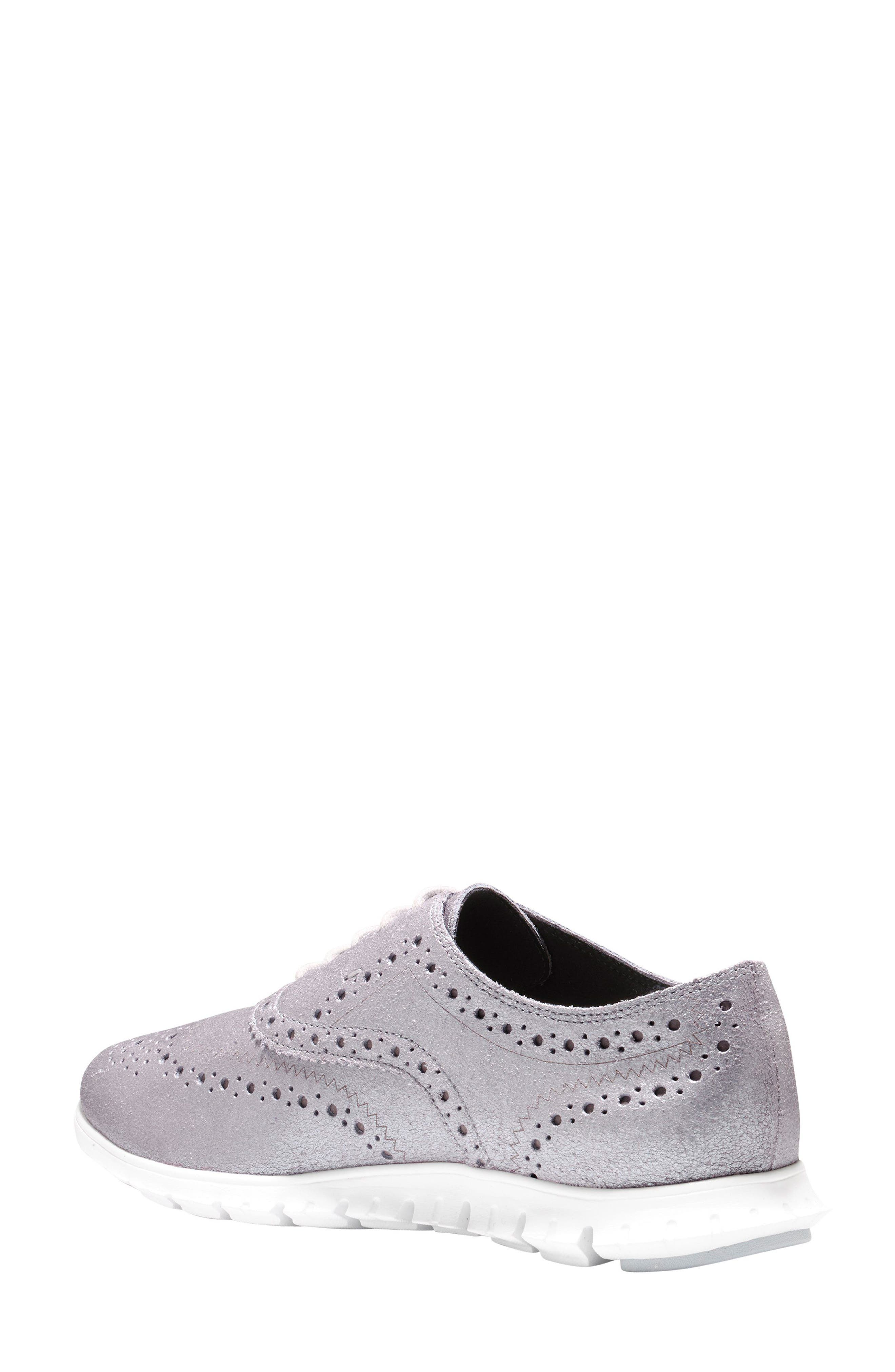 Alternate Image 2  - Cole Haan ZERØGRAND Wingtip Oxford Sneaker (Women)