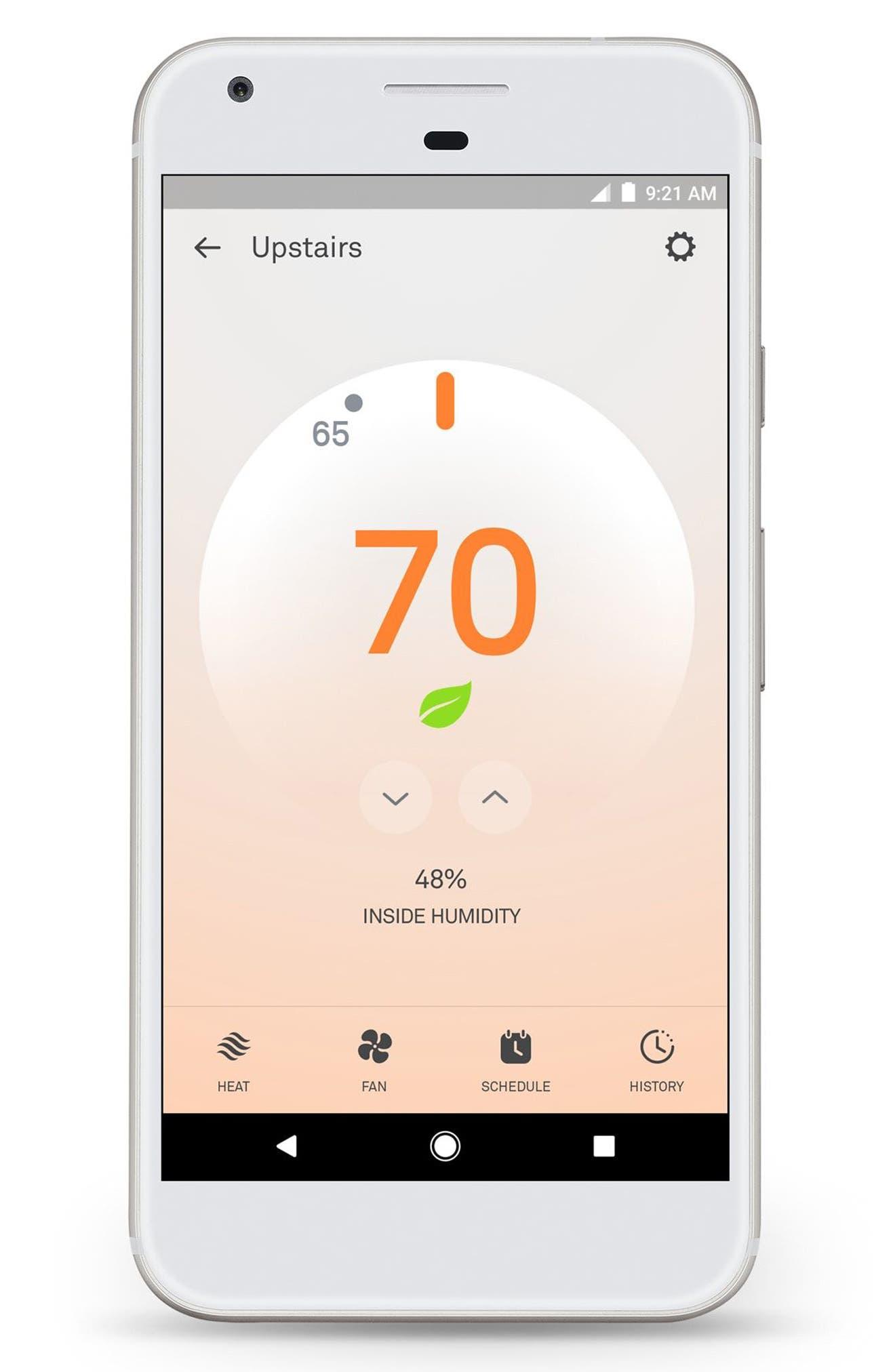 Thermostat E,                             Alternate thumbnail 9, color,                             White