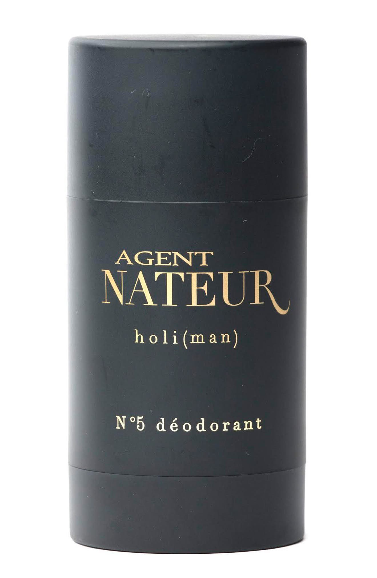 AGENT NATEUR Holi Man No. 5 Natural Deodorant in Black