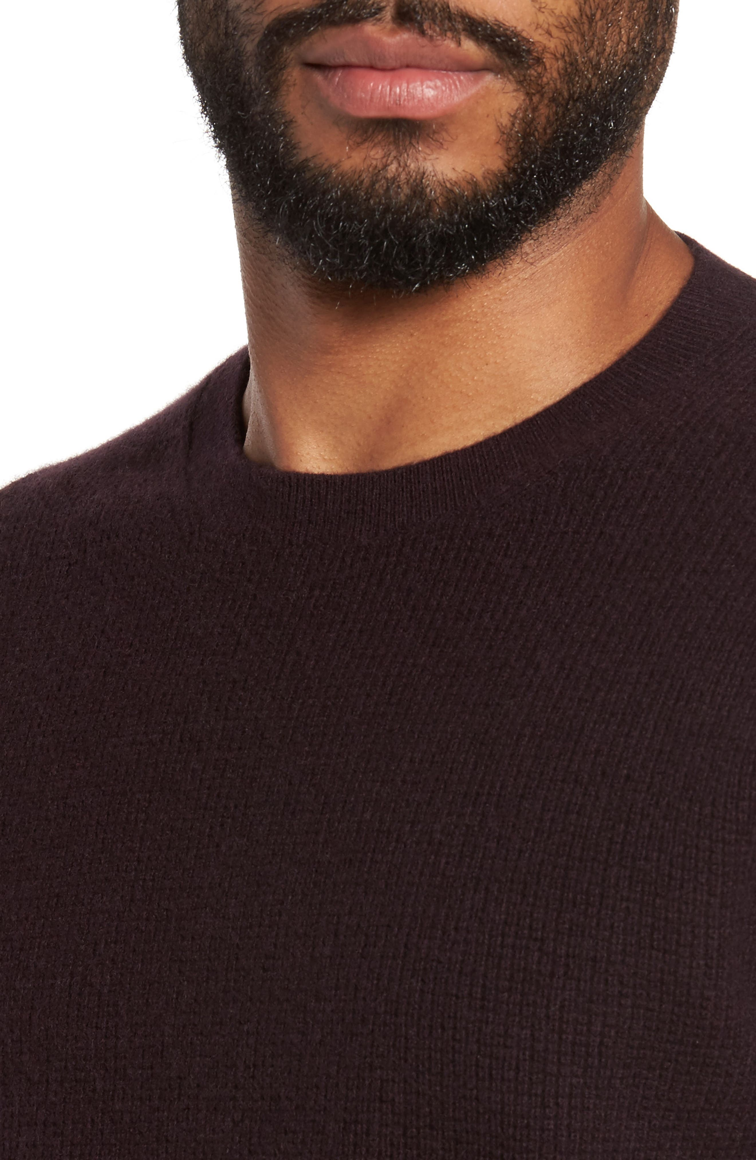 Alternate Image 4  - Vince Thermal Wool & Cashmere Sweater