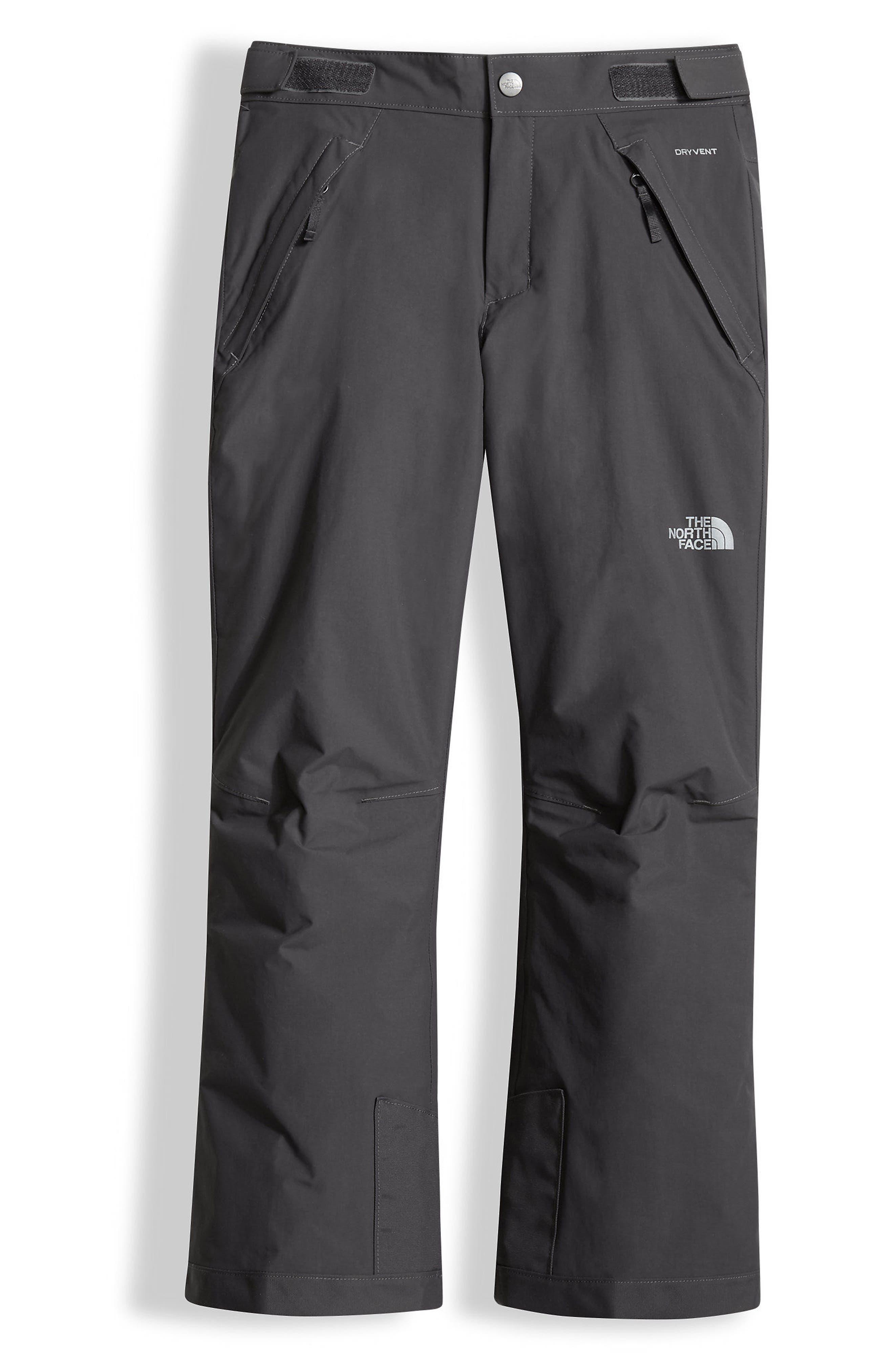 Freedom Waterproof Heatseeker<sup>™</sup> Insulated Snow Pants,                         Main,                         color, Graphite Grey