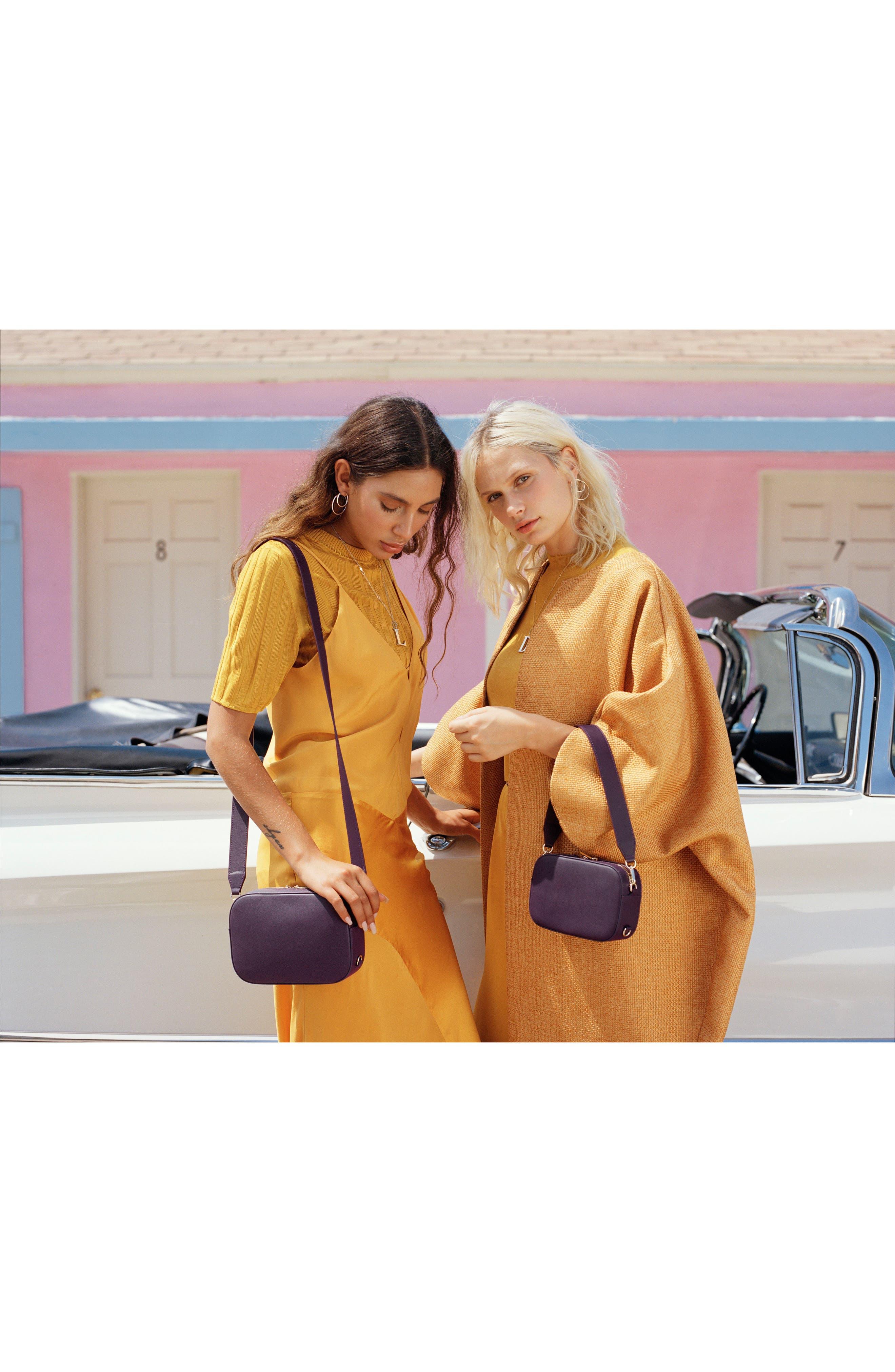 Alternate Image 3  - Pop & Suki Bigger Leather Camera Bag (Nordstrom Exclusive)