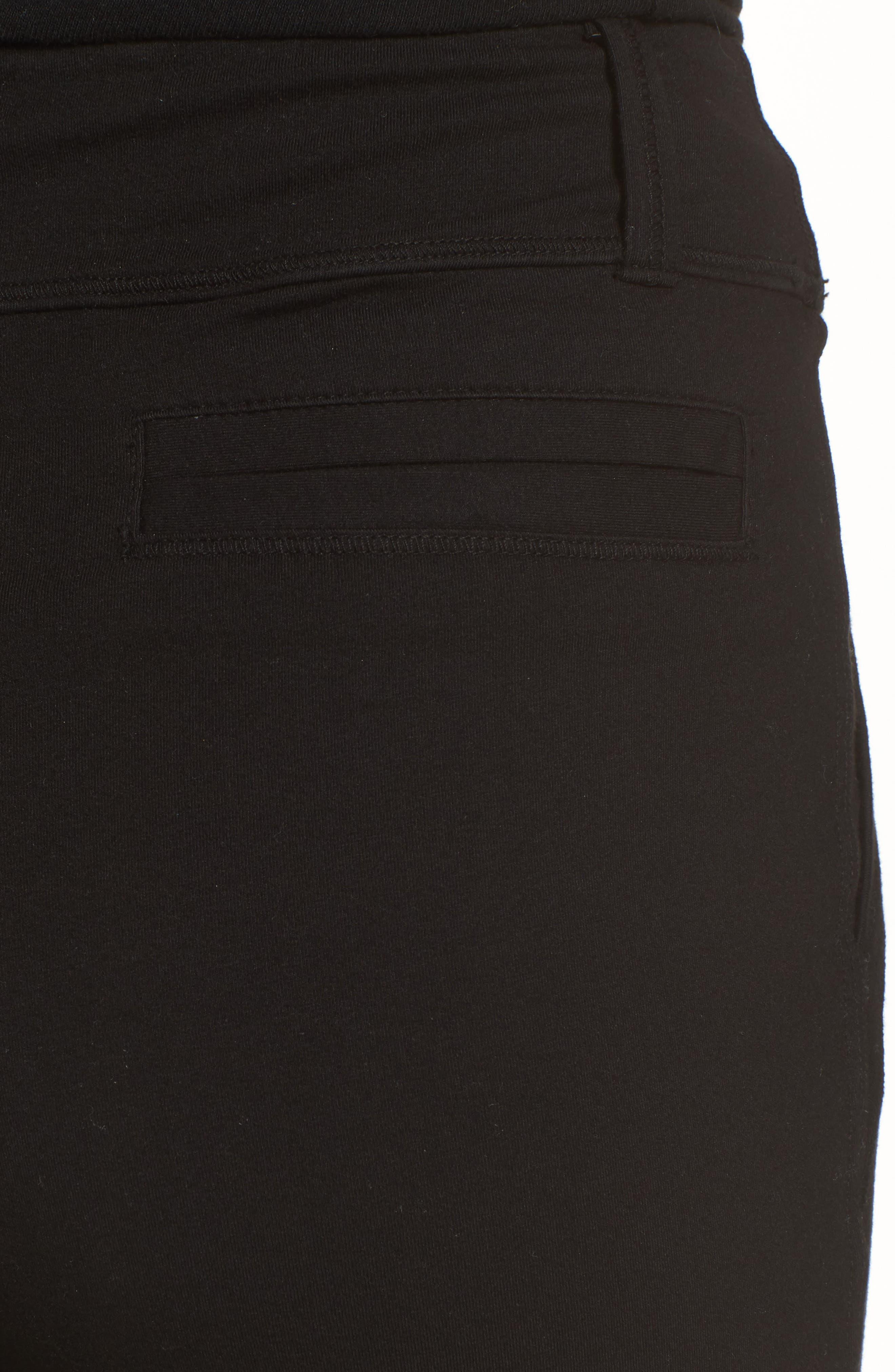 The Trouser Knit Pants,                             Alternate thumbnail 4, color,                             Blackout