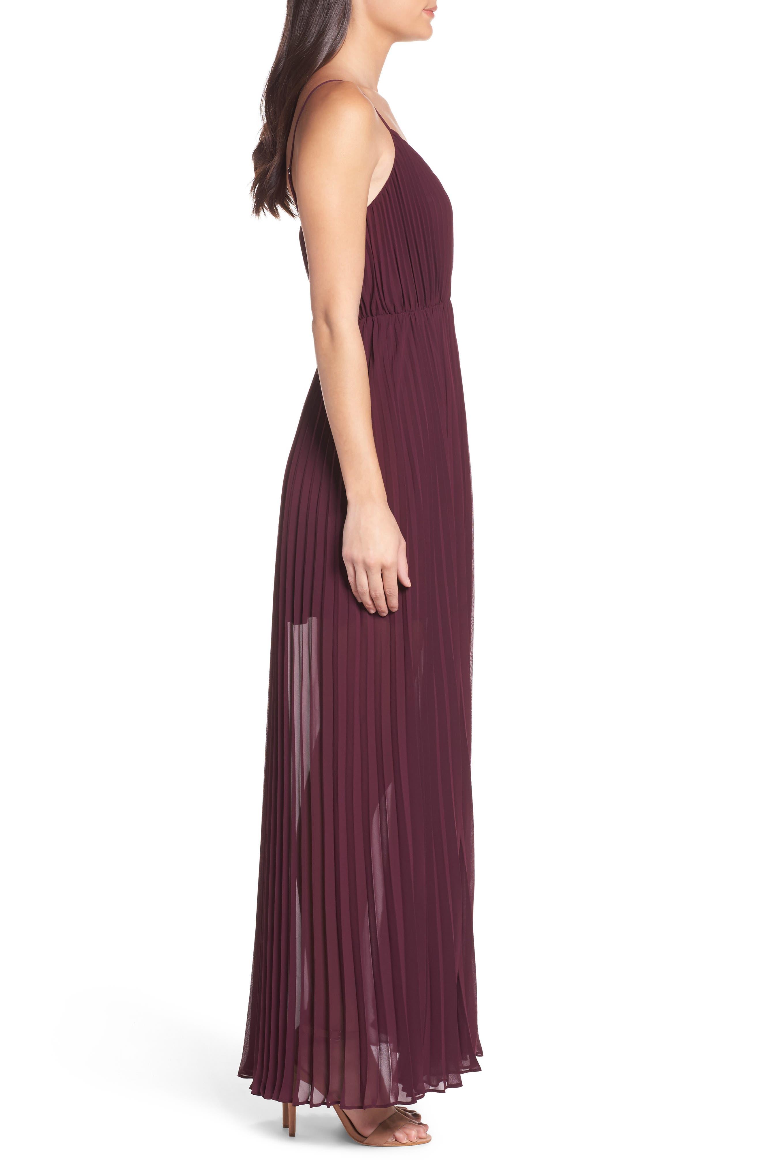 Alternate Image 3  - Ali & Jay She Is A Regular Pleated Maxi Dress