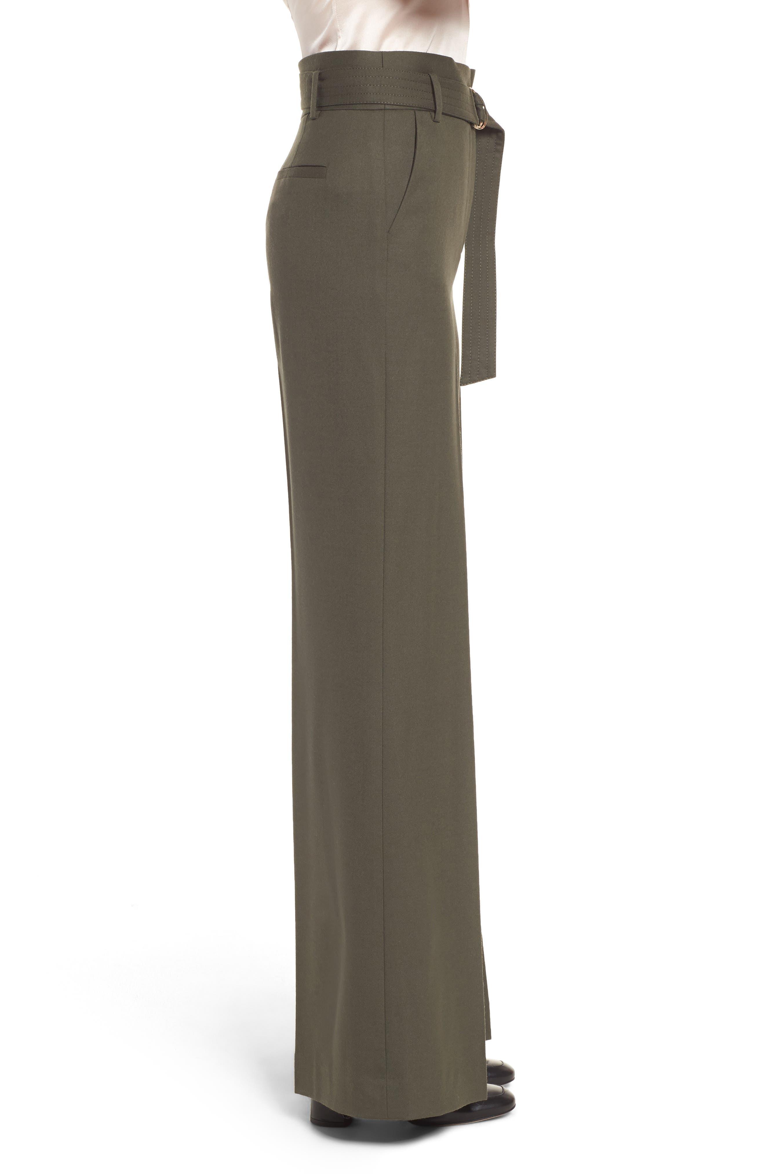Alternate Image 3  - Lewit Wide Leg Stretch Wool Pants