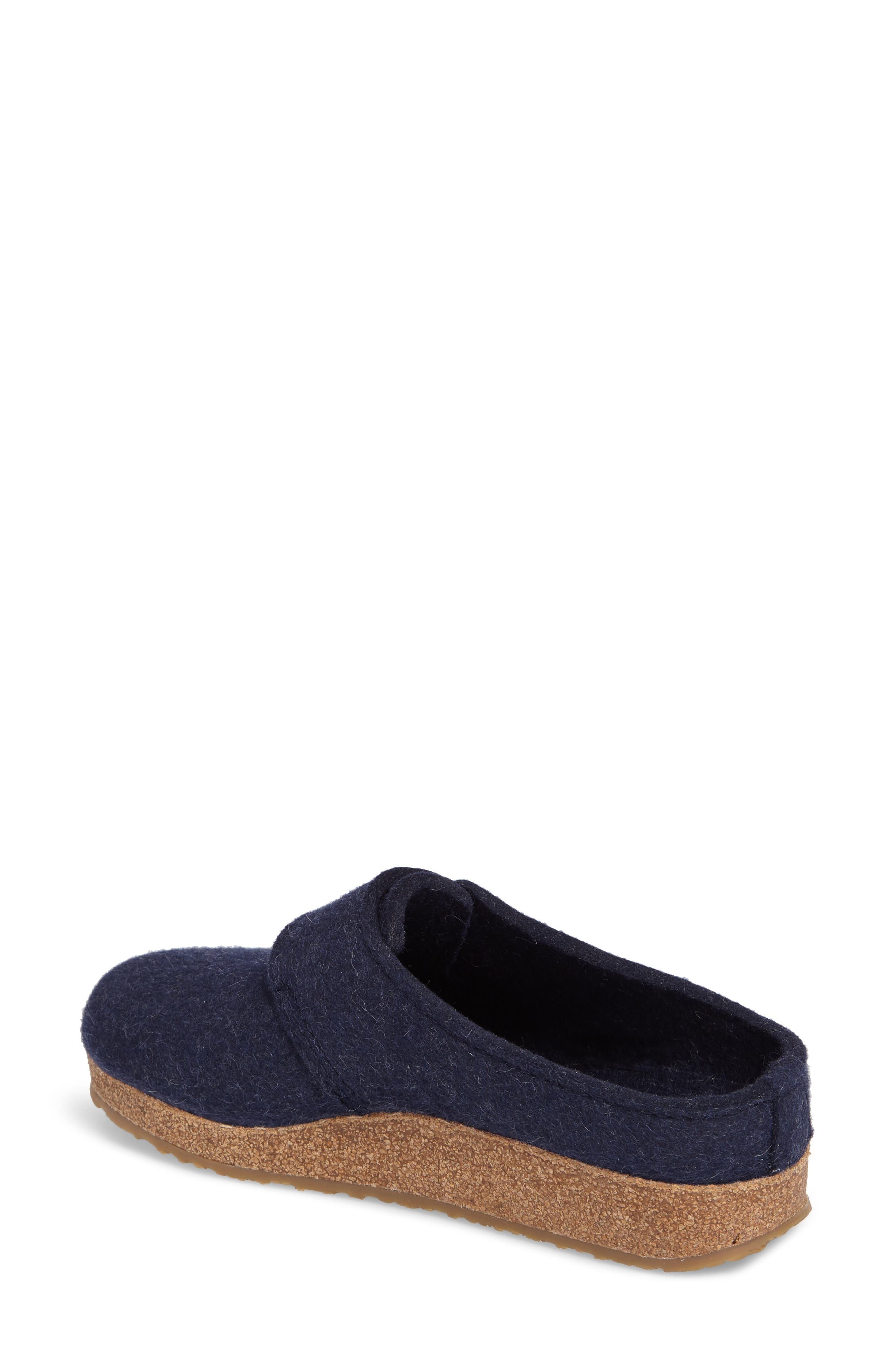 Grizzly Journey Clog Slipper,                             Alternate thumbnail 2, color,                             Captains Blue Wool