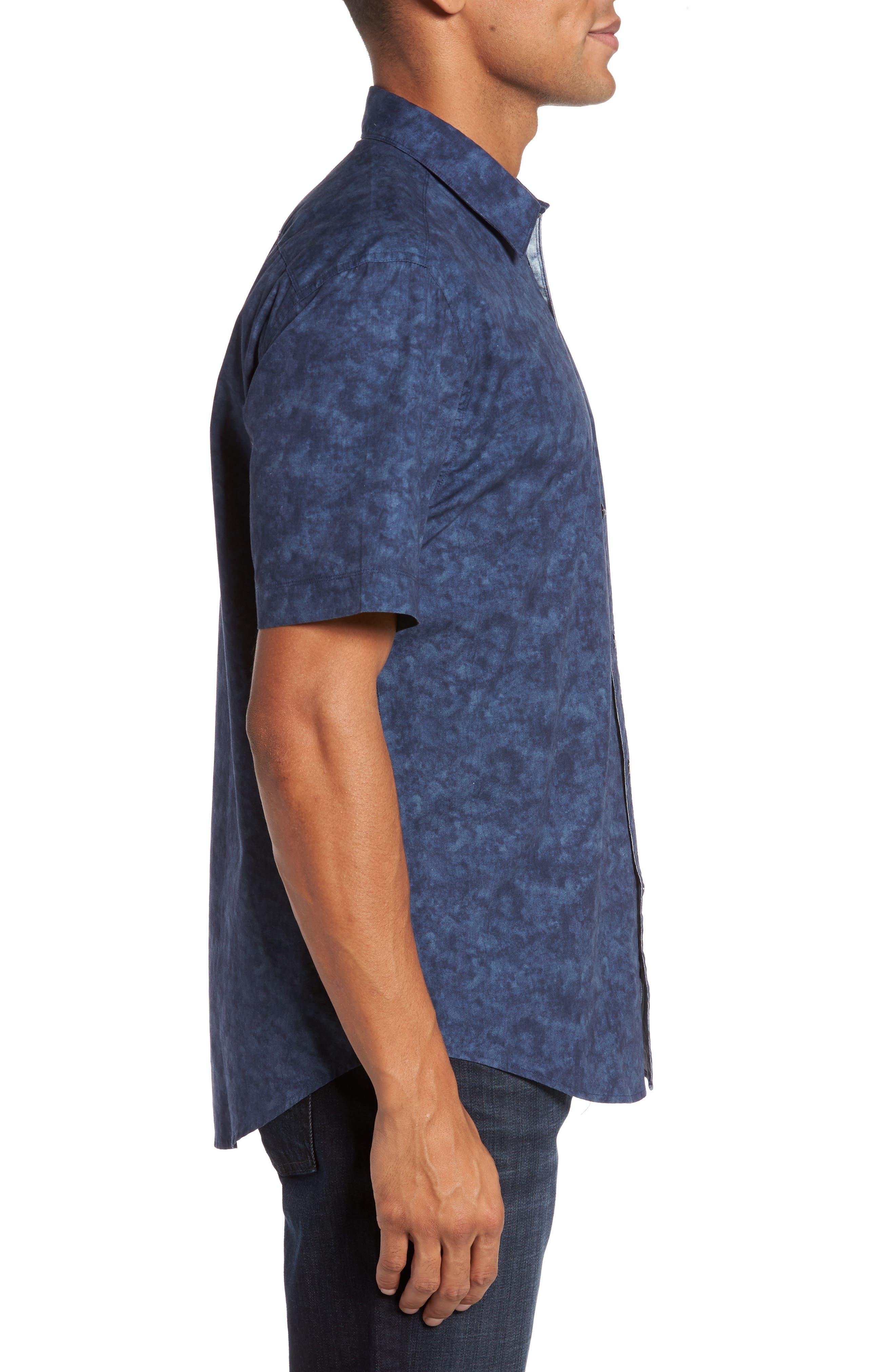 Alternate Image 3  - Coastaoro Seaside Regular Fit Print Sport Shirt