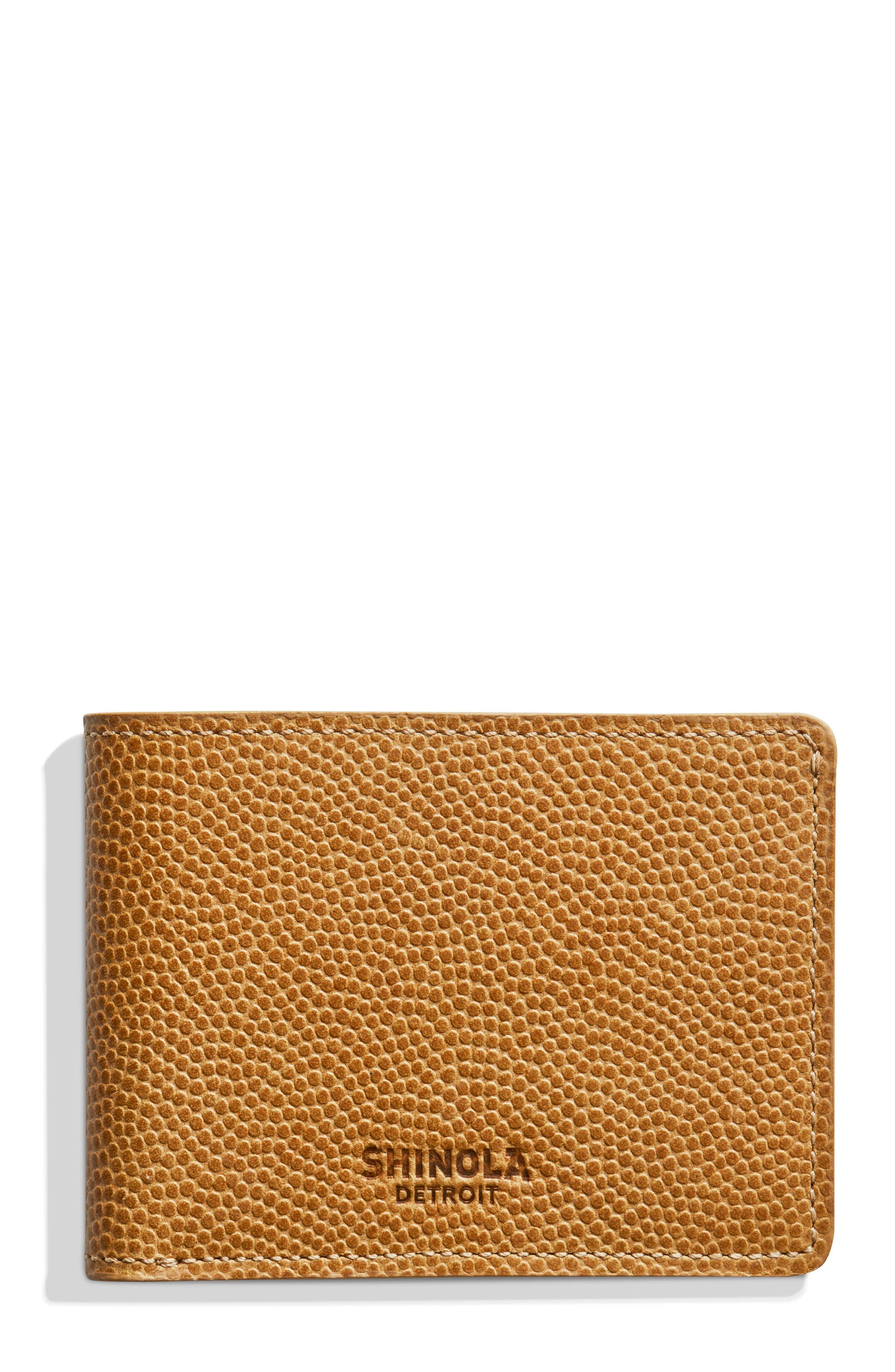 Slim Bifold 2.0 Leather Wallet,                         Main,                         color, Camel