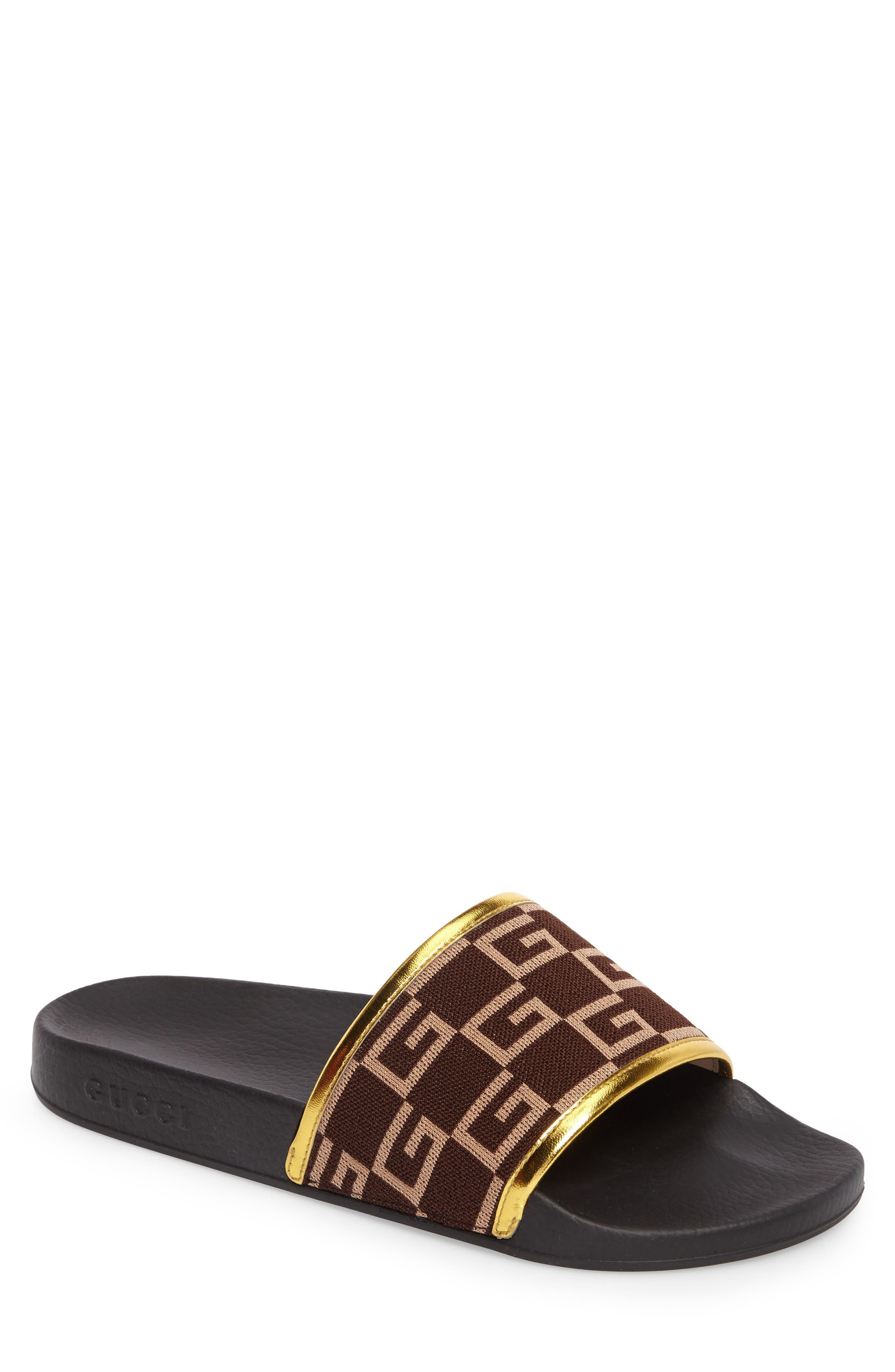 Pursuit Slide Sandal,                             Main thumbnail 1, color,                             Brown