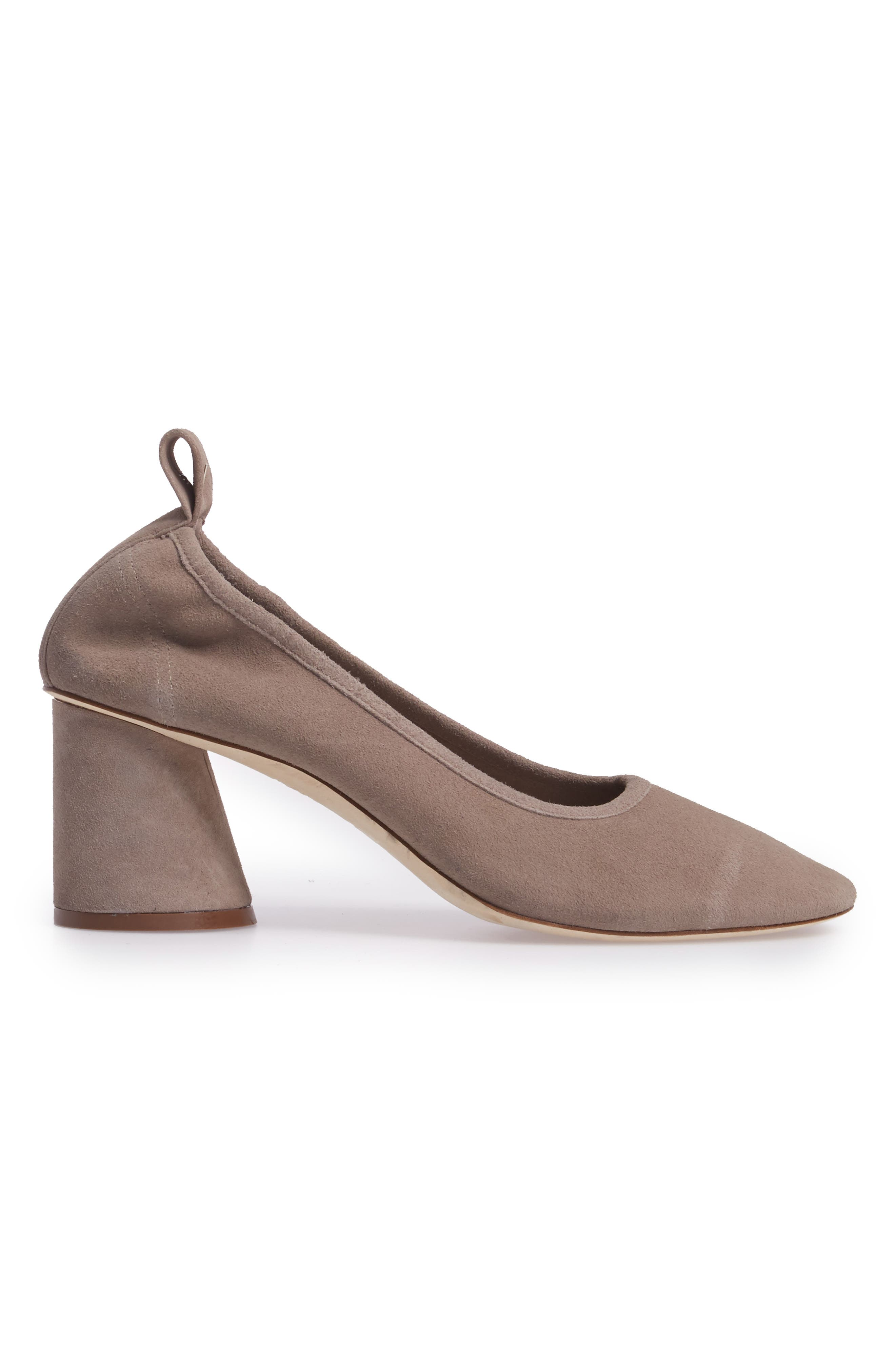 Therese Statement Heel Pump,                             Alternate thumbnail 3, color,                             Duststorm
