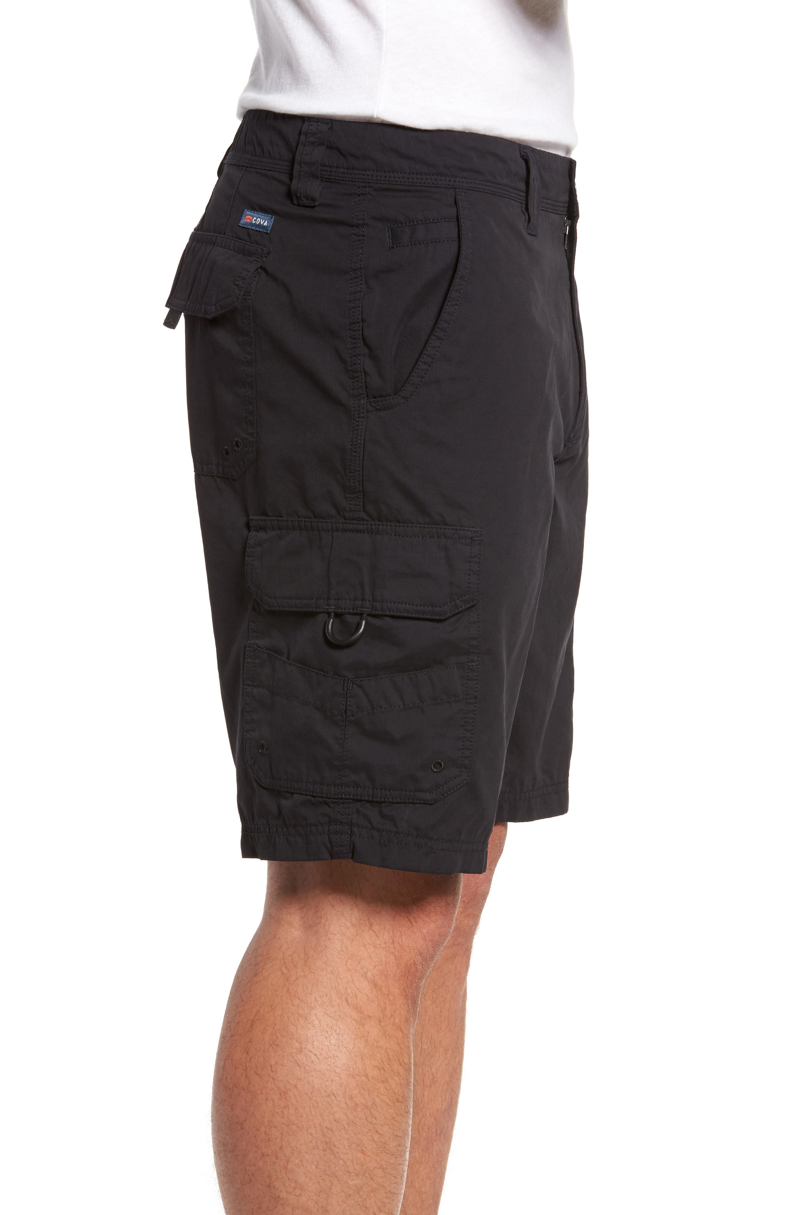 Catch & Release Regular Fit Hybrid Cargo Shorts,                             Alternate thumbnail 3, color,                             Charcoal
