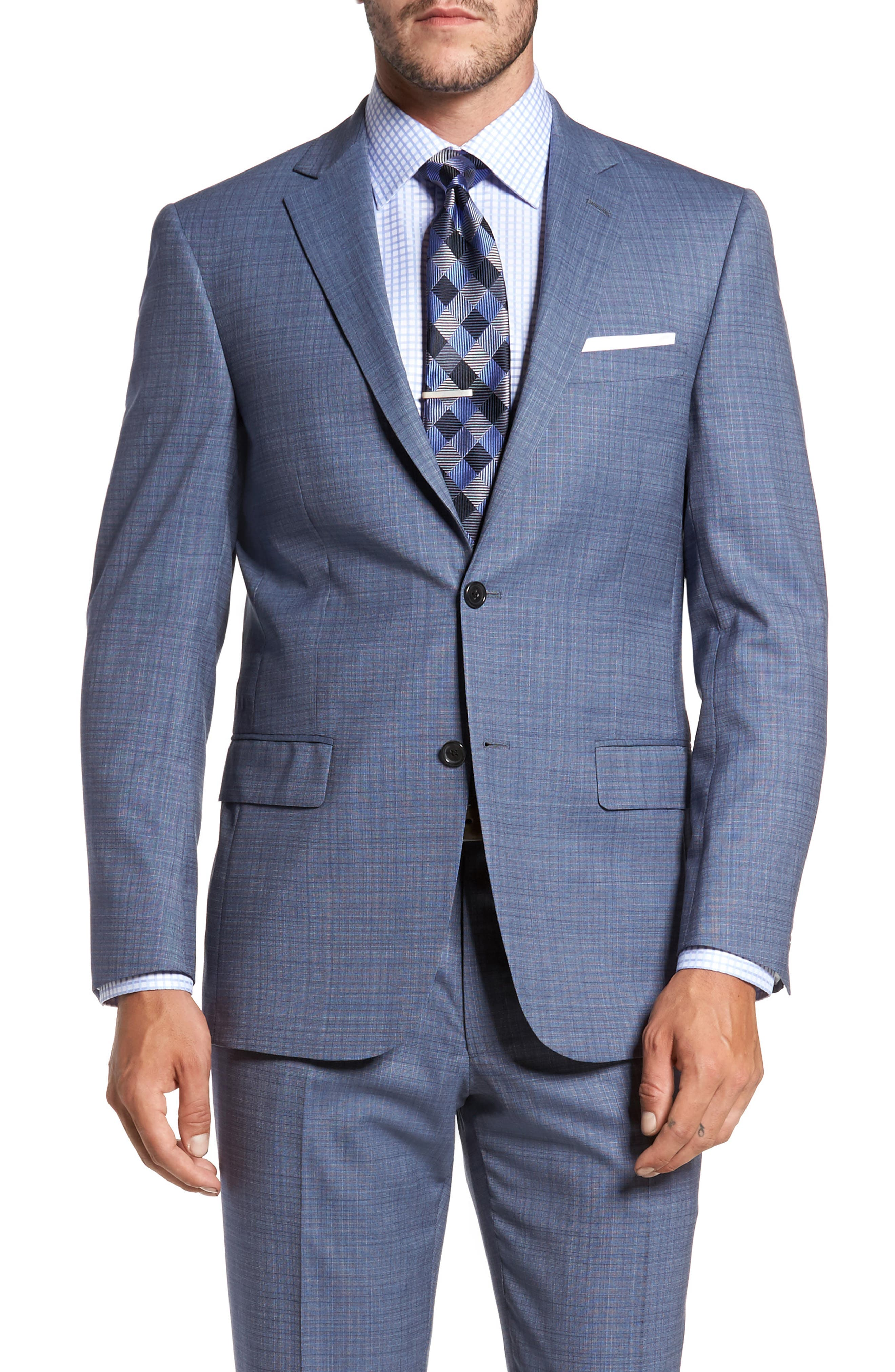 Alternate Image 5  - Hart Schaffner Marx Classic Fit Check Wool Suit