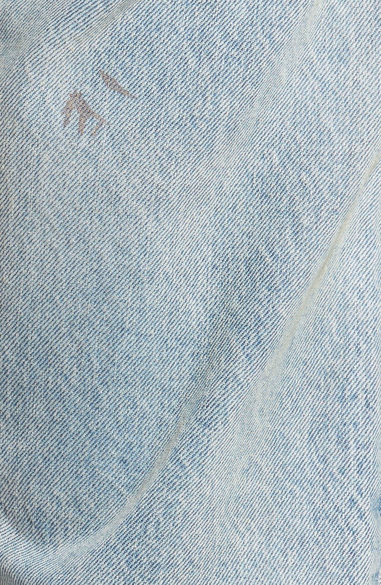 Alternate Image 5  - Levi's® 512 Slouchy Skinny Fit Jeans (Taku Warp)