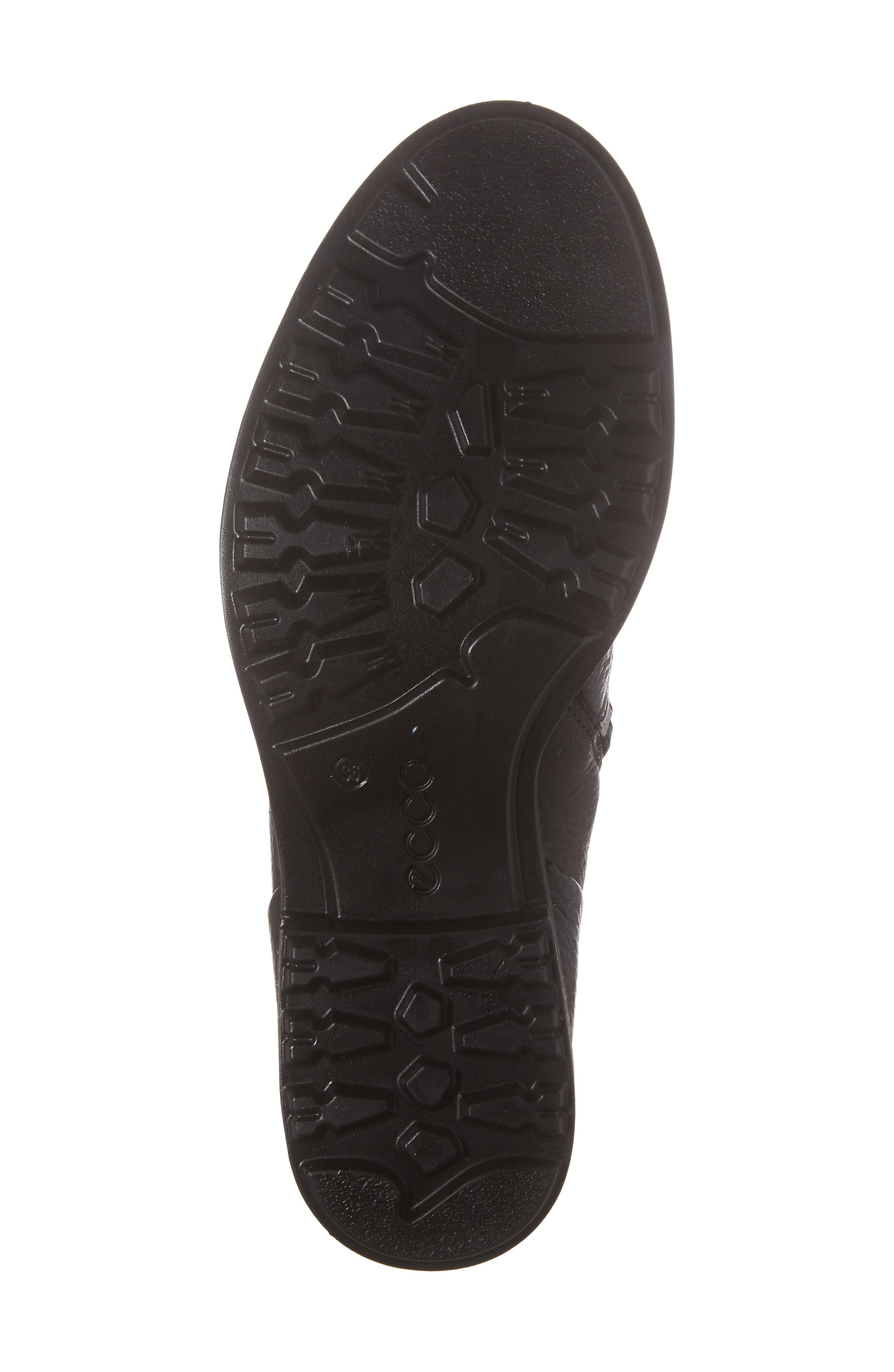 Zoe Mid Boot,                             Alternate thumbnail 6, color,                             Black Leather