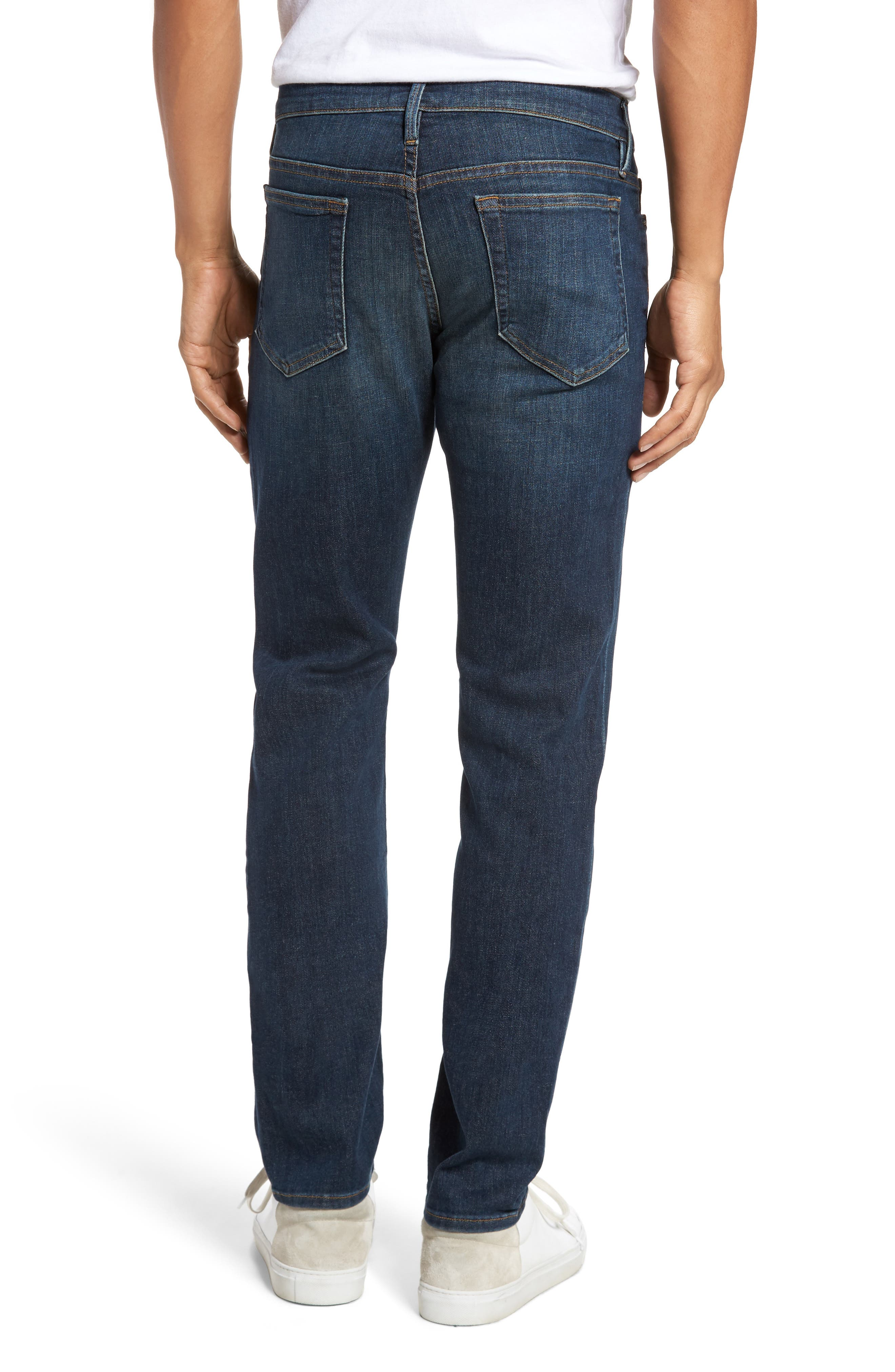 Alternate Image 2  - FRAME L'Homme Slim Fit Jeans (Midway Park)