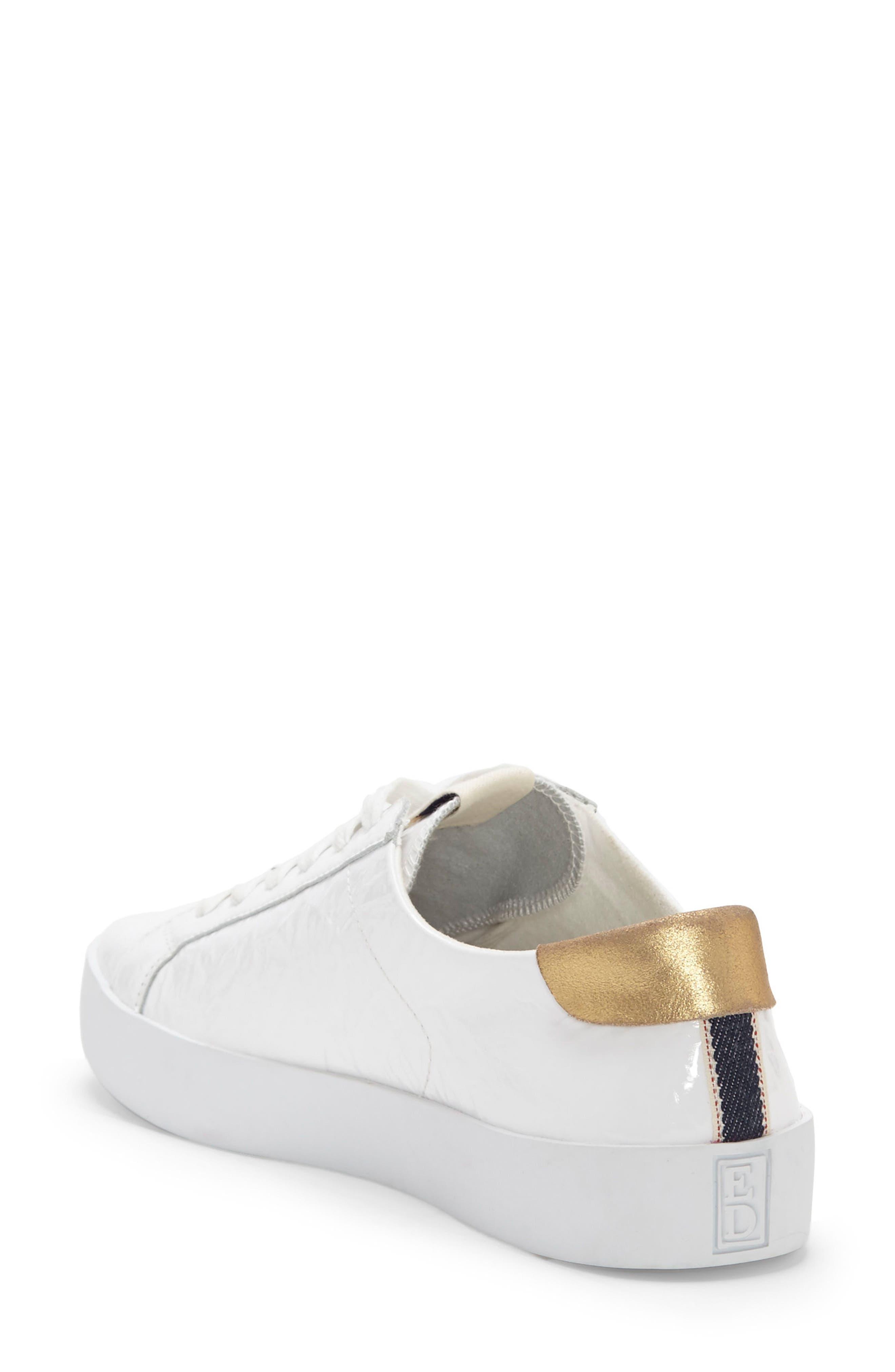 Gillen Sneaker,                             Alternate thumbnail 2, color,                             Pure White Crinkled Patent