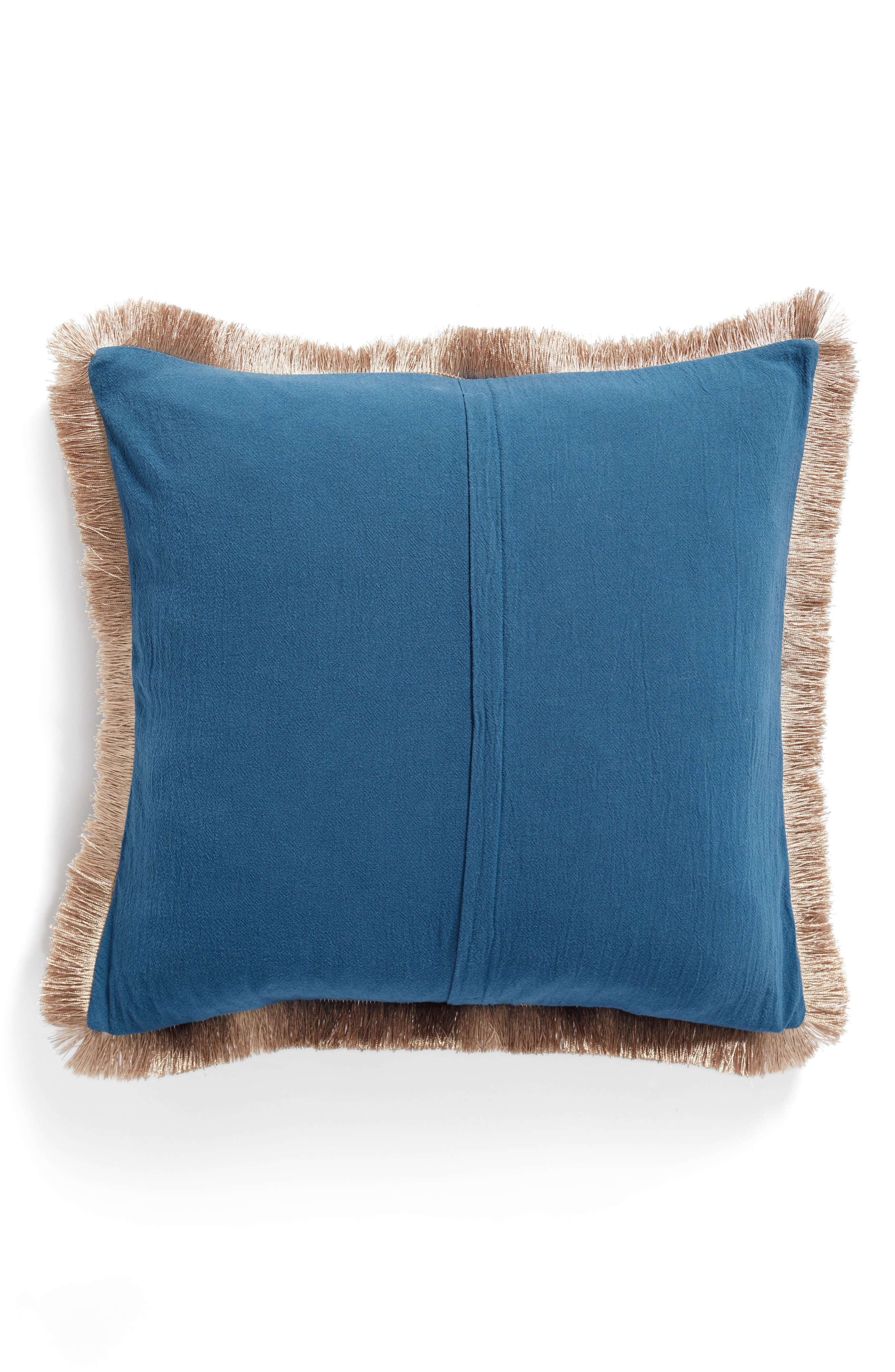 Beckett Wild & Free Pillow,                             Alternate thumbnail 2, color,                             Blue