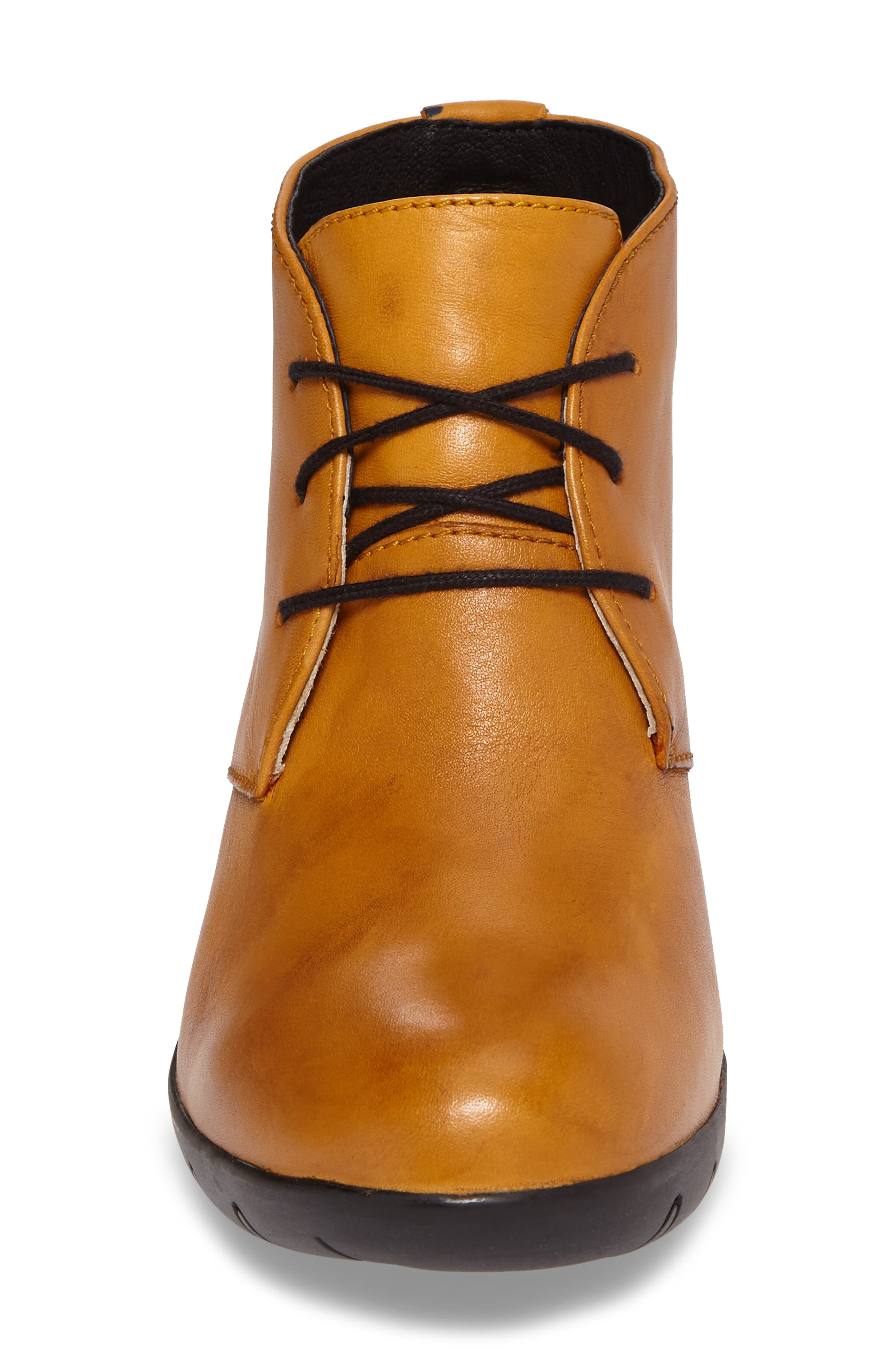 Bighorn Bootie,                             Alternate thumbnail 4, color,                             Curry Leather