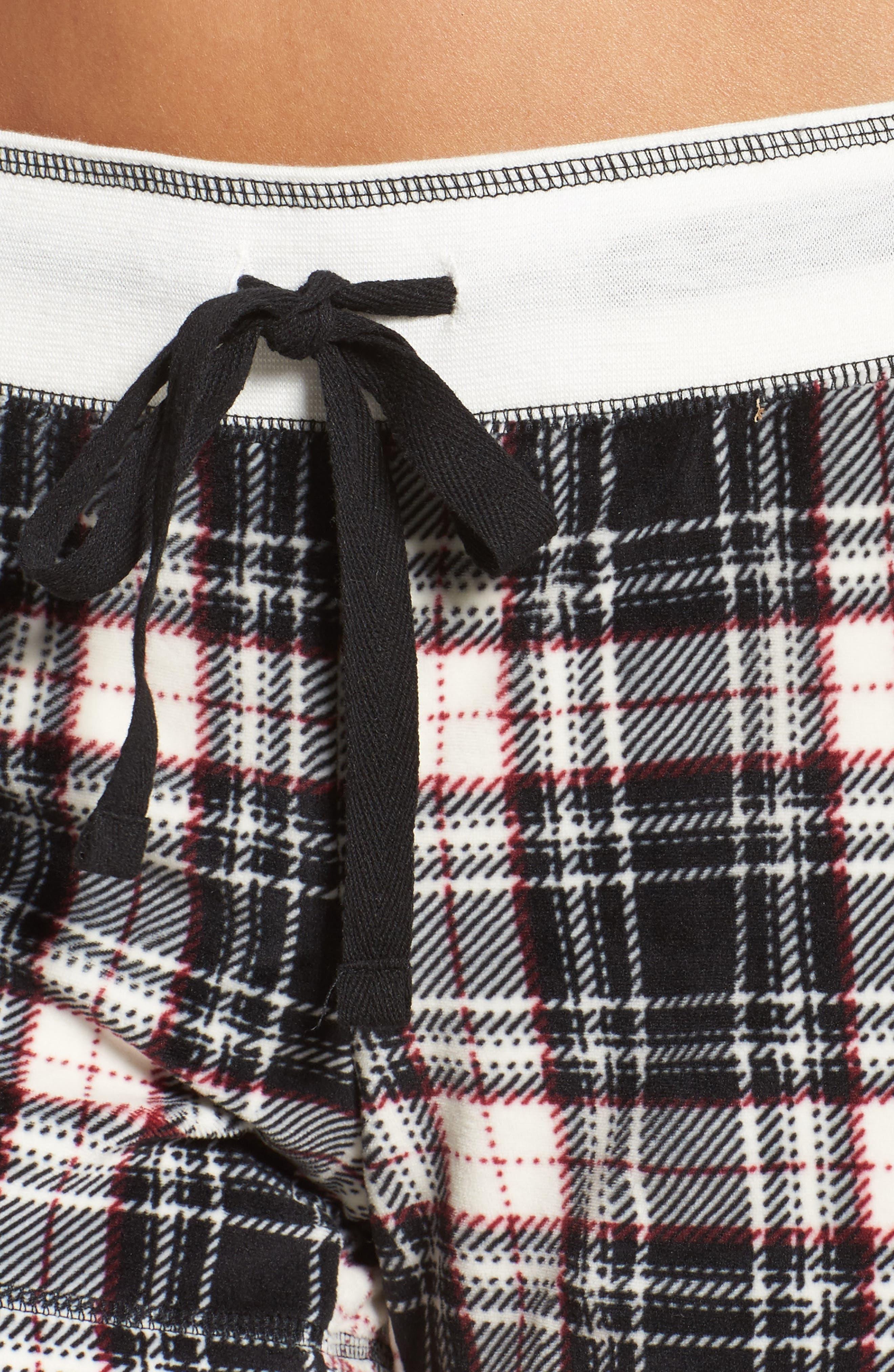 Velour Shorts,                             Alternate thumbnail 5, color,                             Black
