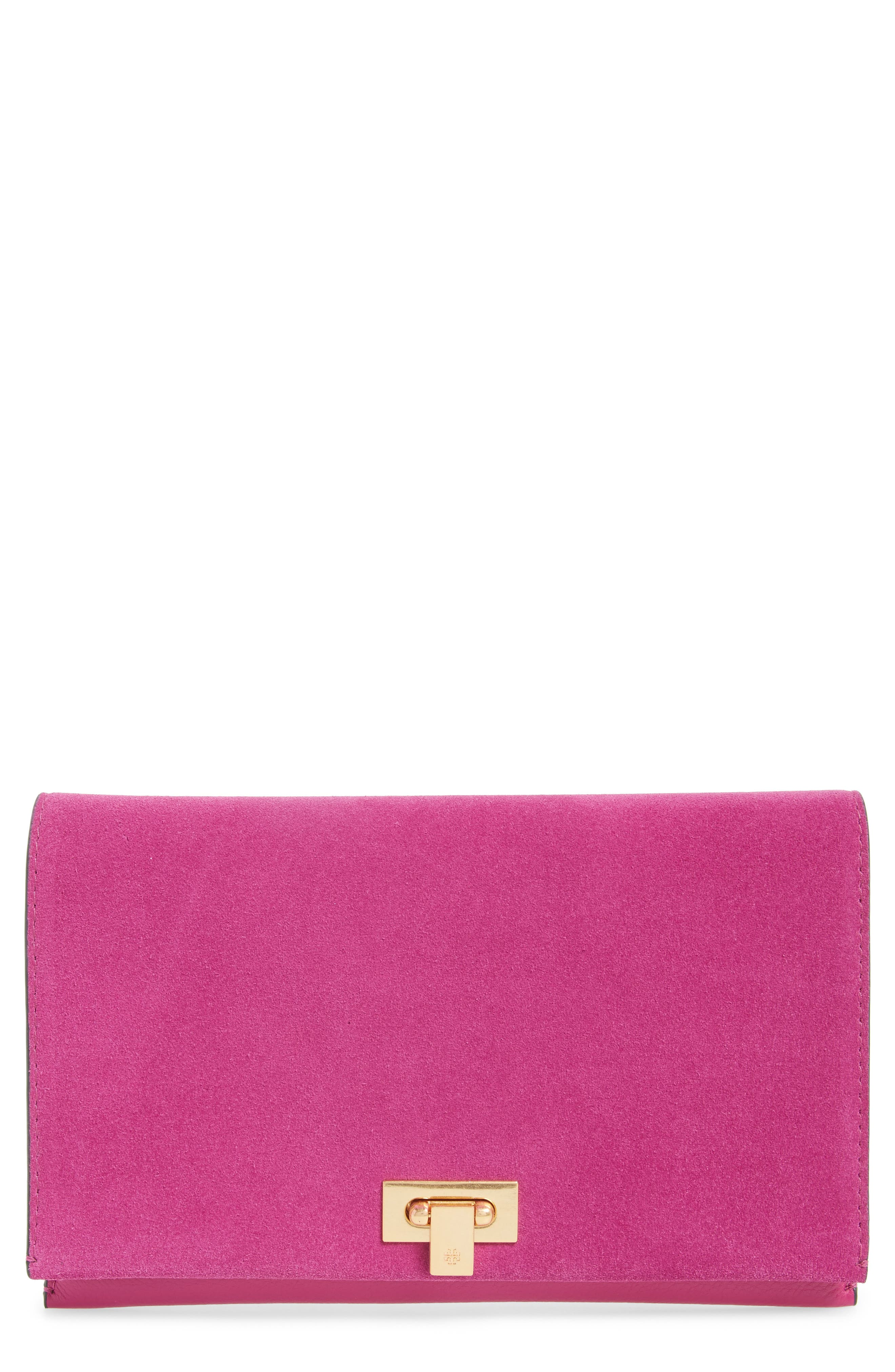 Tory Burch Carmen Leather Clutch