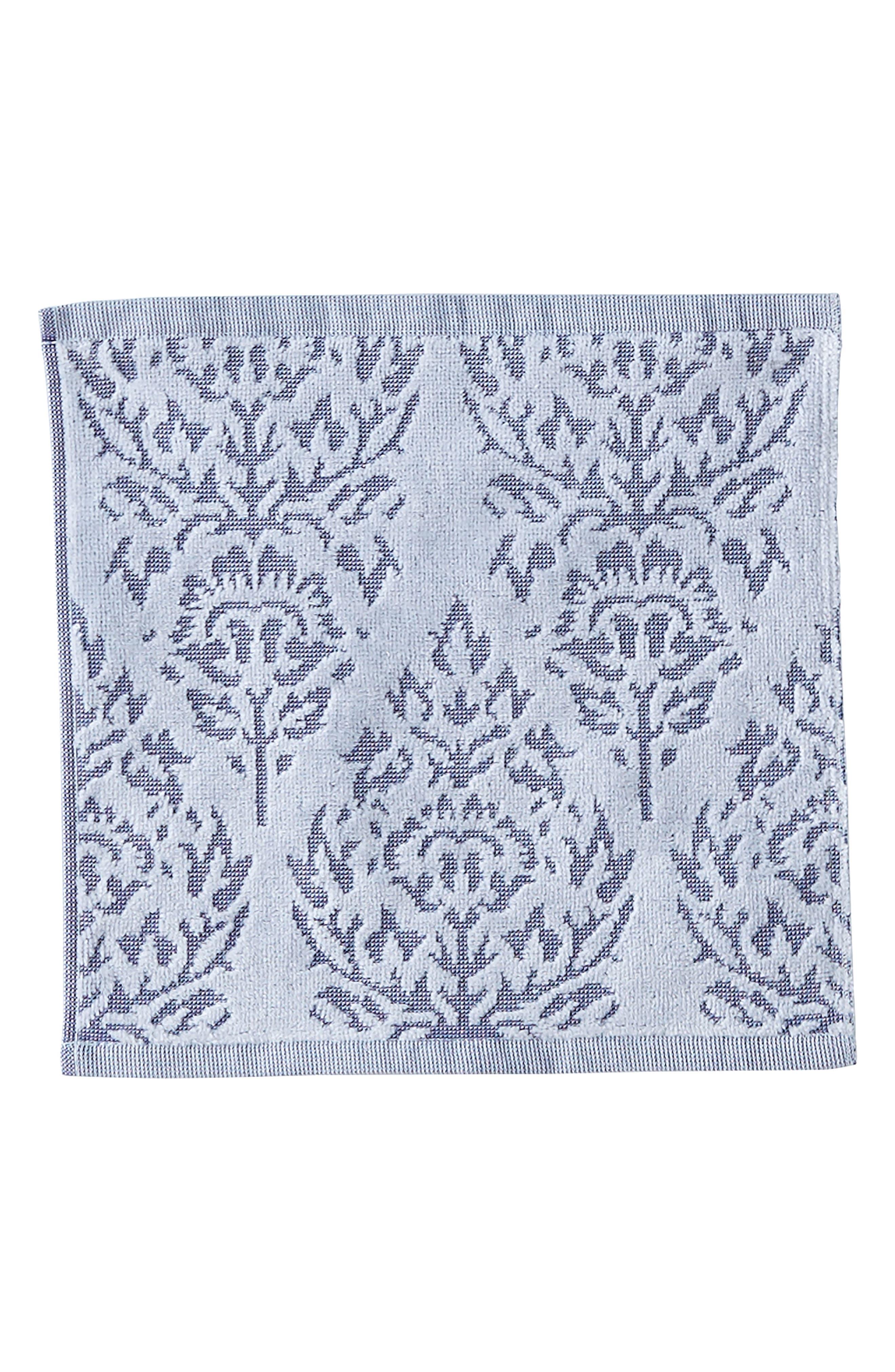 Jalati Washcloth,                         Main,                         color, Indigo