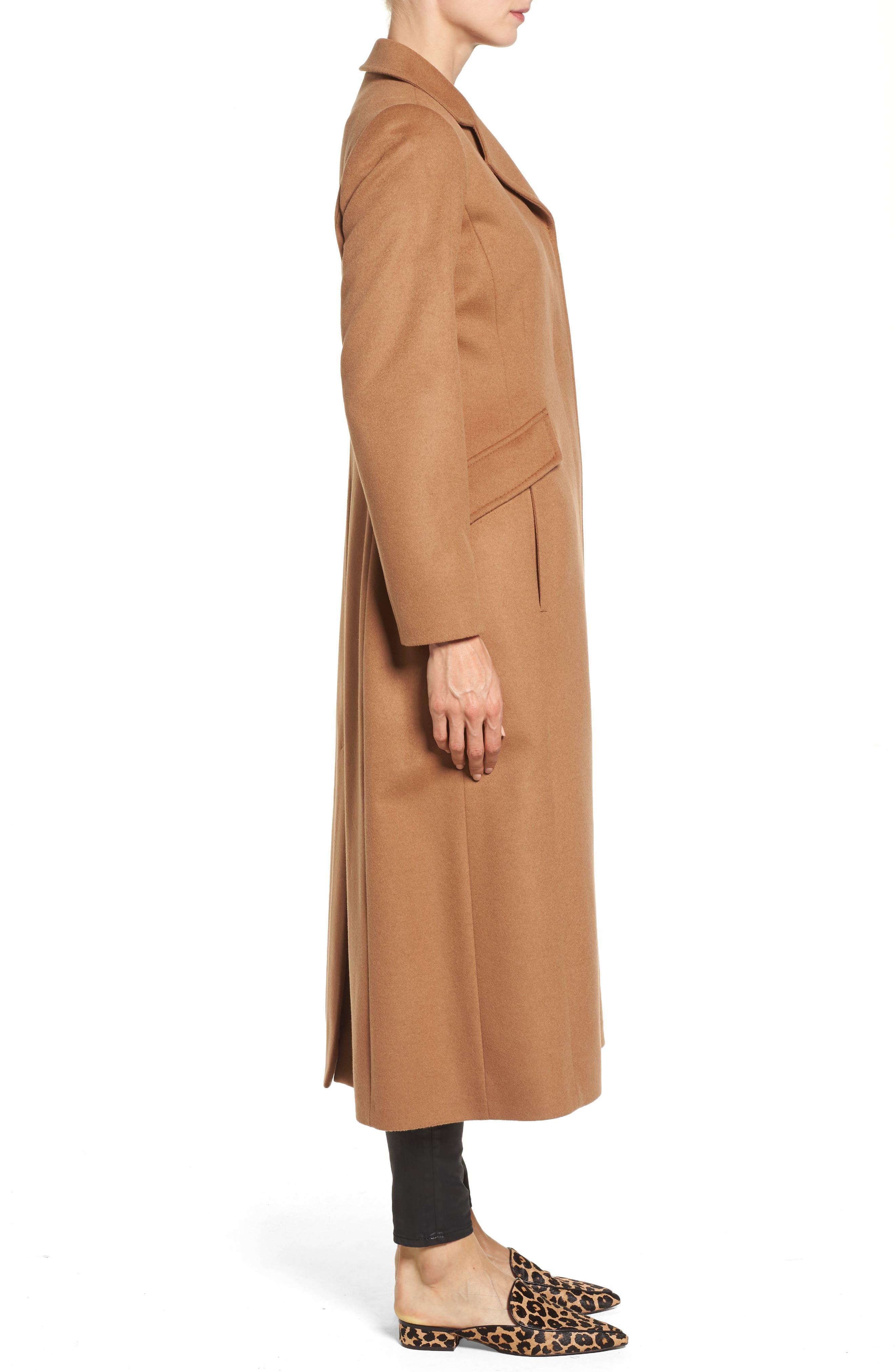 Alternate Image 3  - trina Trina Turk Emi Wool Blend Coat
