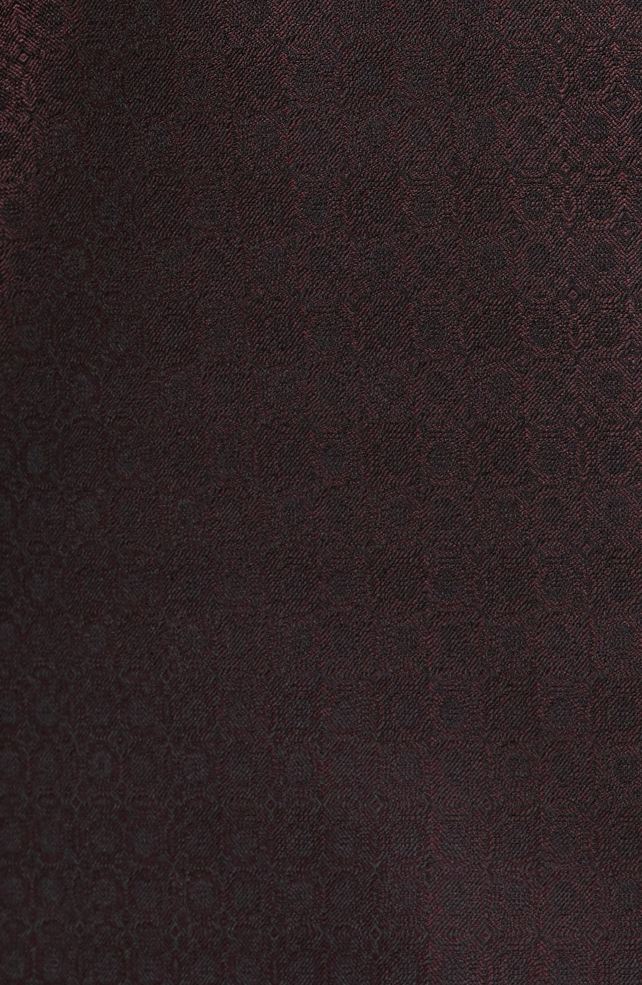 Jack Trim Fit Wool Dinner Jacket,                             Alternate thumbnail 5, color,                             Burgundy