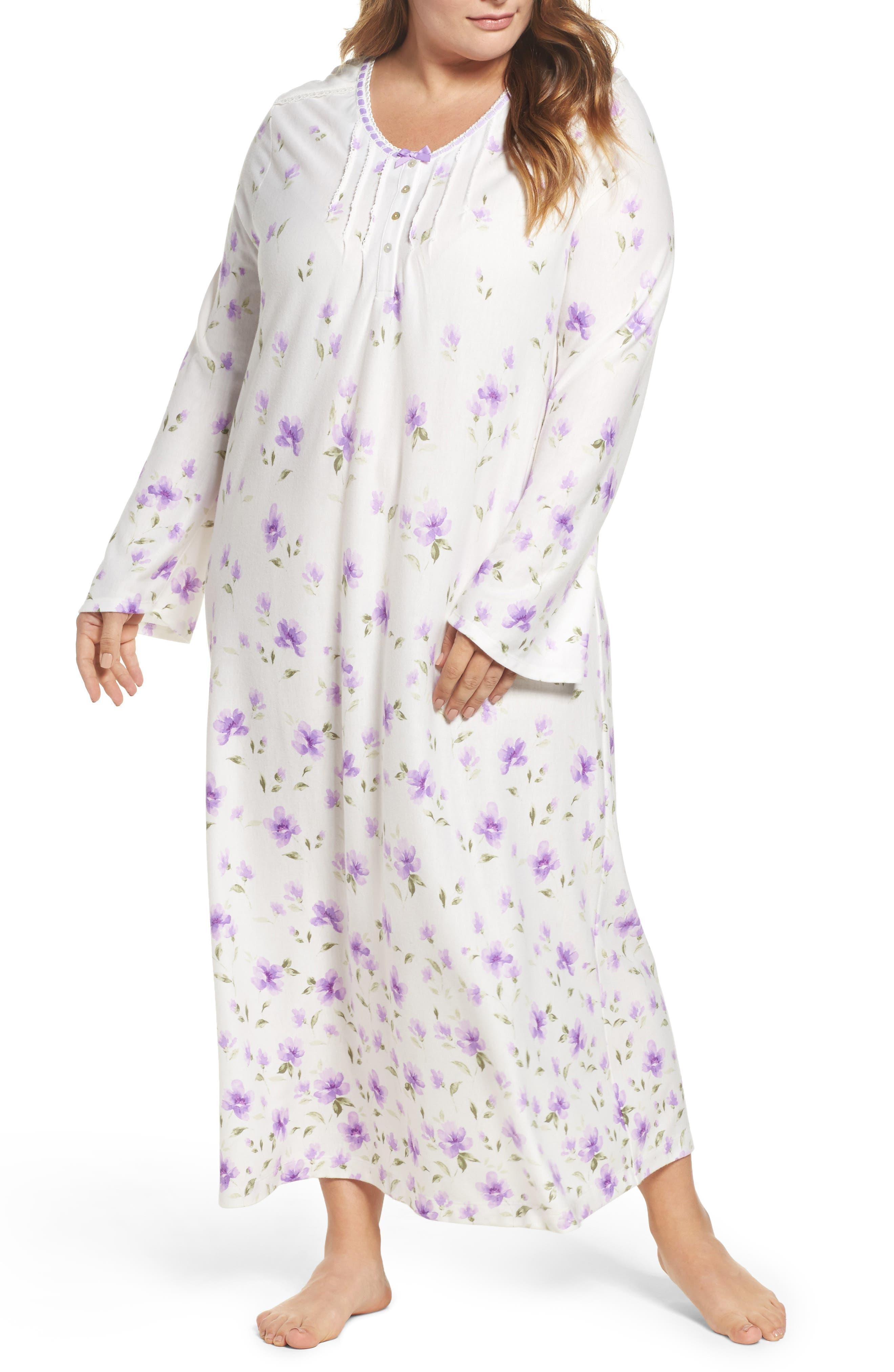 Carole Hochman Long Nightgown (Plus Size)
