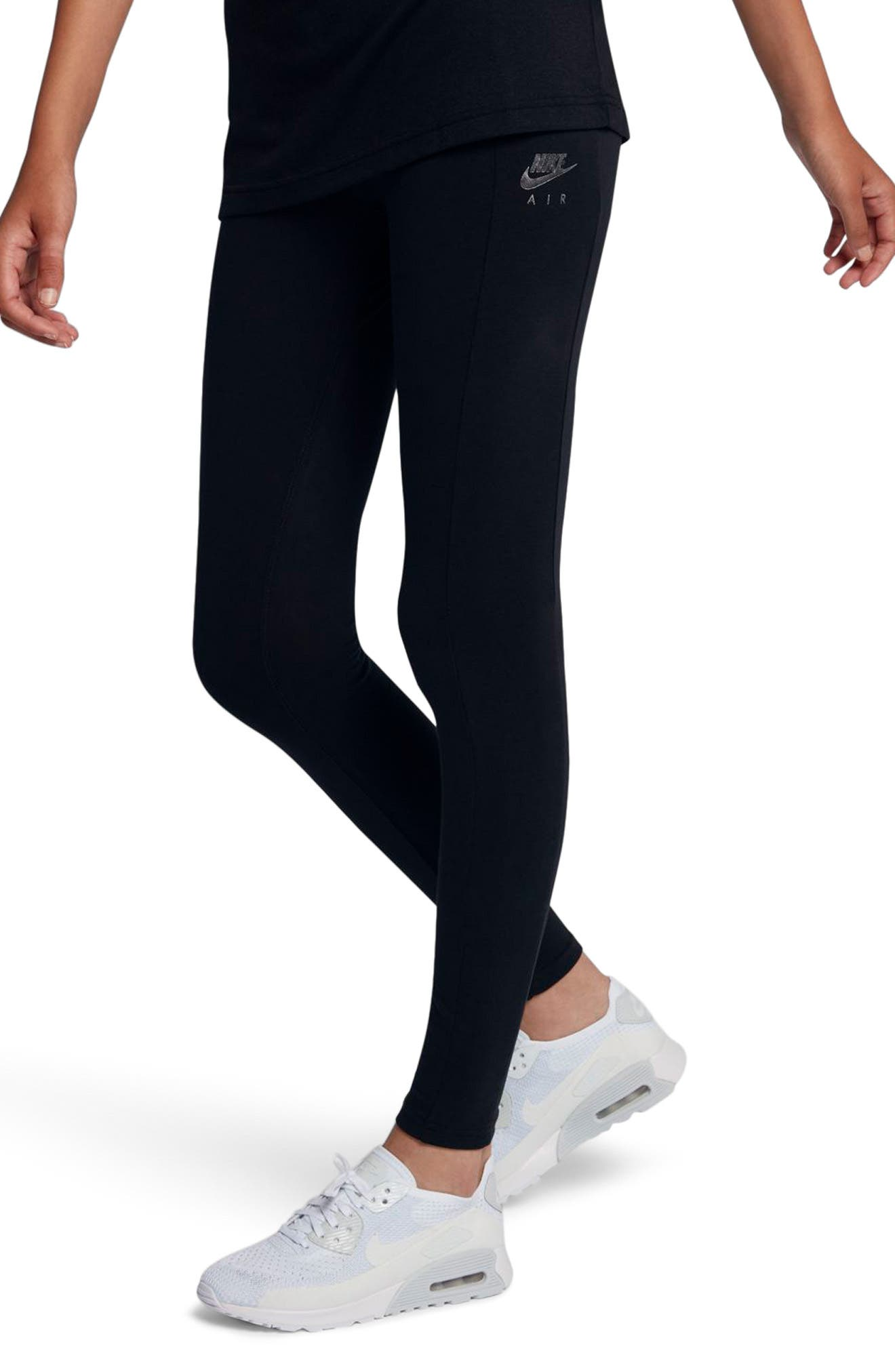 Alternate Image 4  - Nike Women's NSW Air Leggings