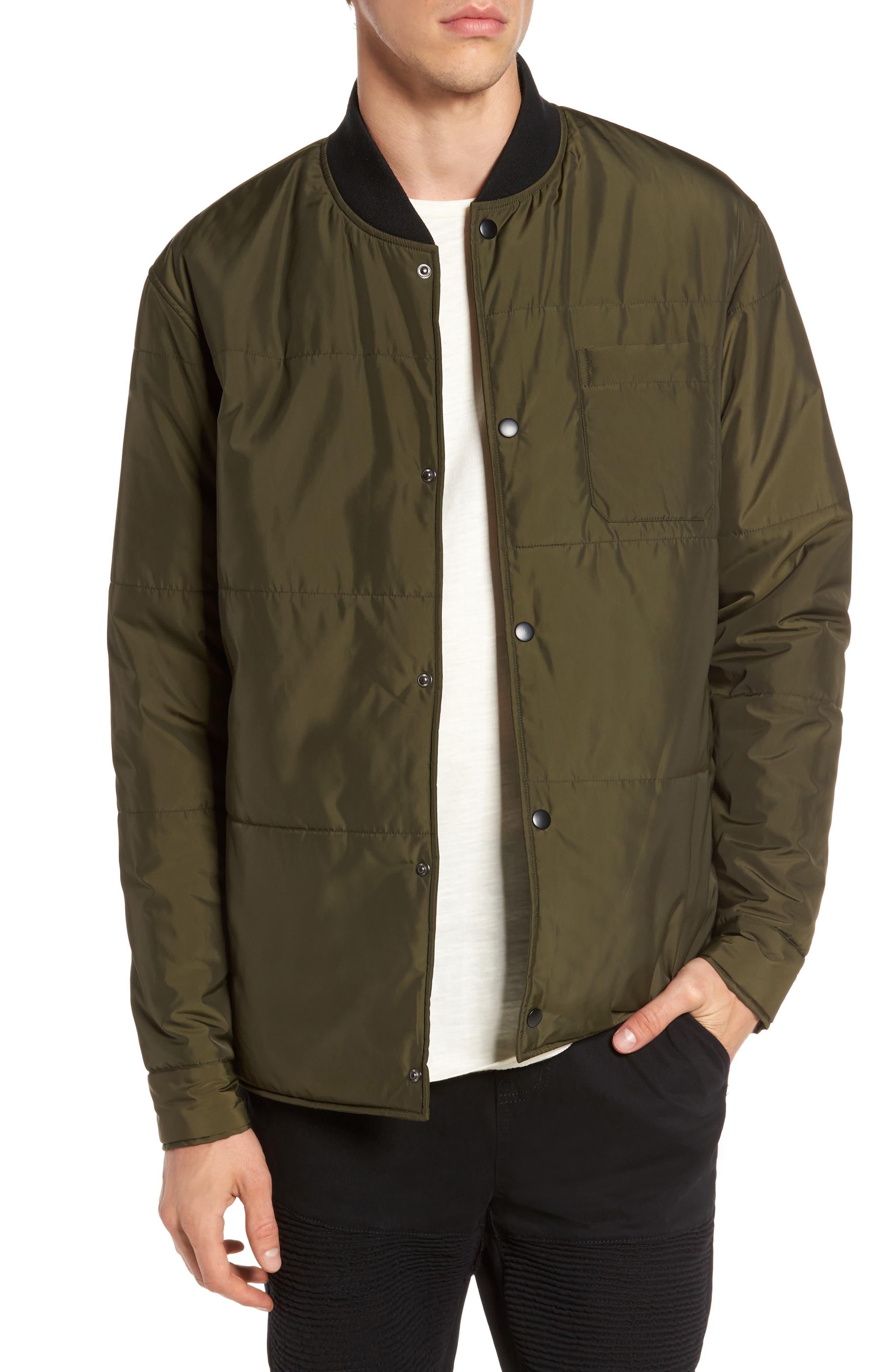 Alternate Image 1 Selected - Lira Clothing Bundy Bomber Jacket