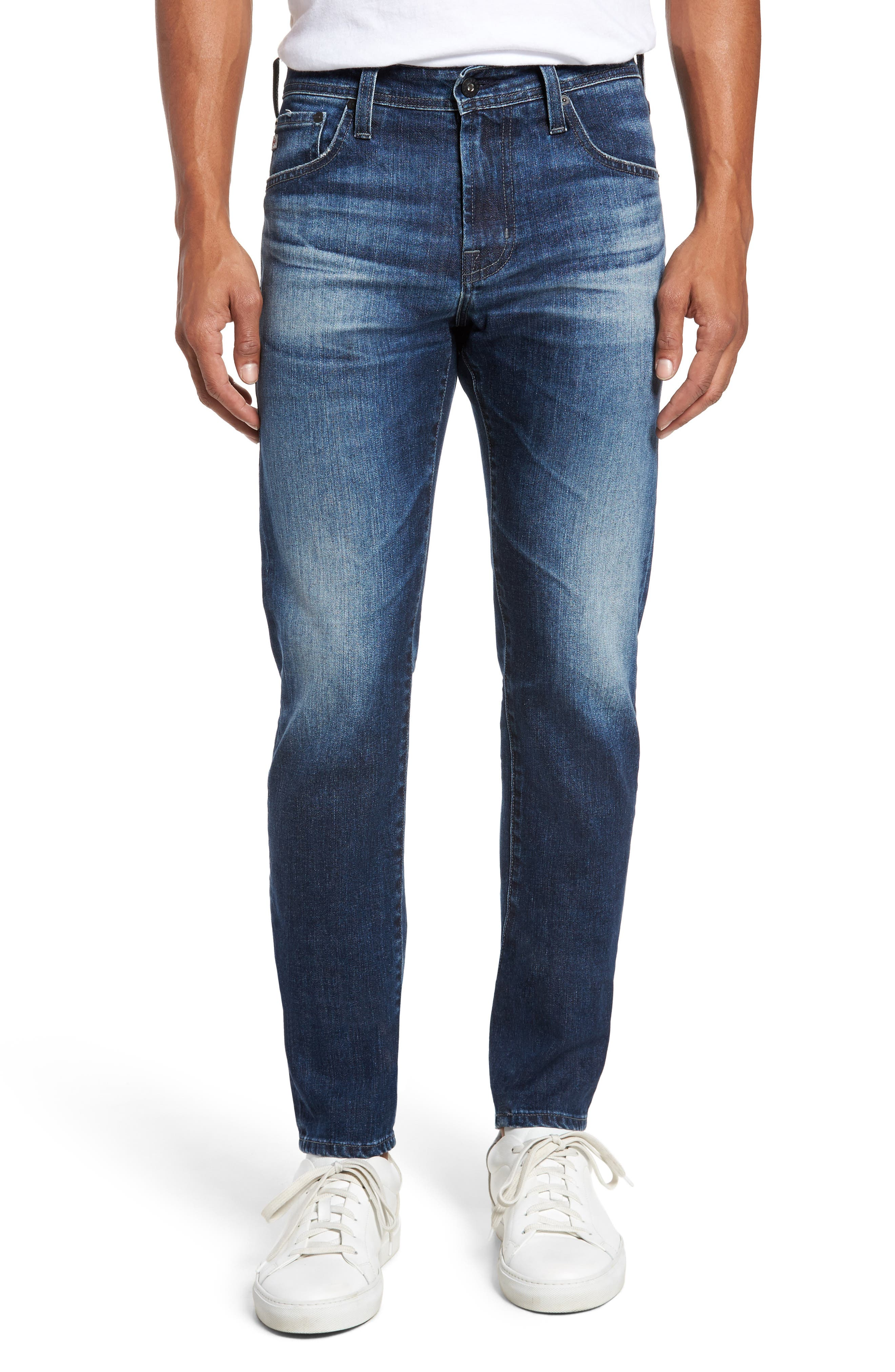 Stockton Skinny Fit Jeans,                             Main thumbnail 1, color,                             7 Years Blue Spire