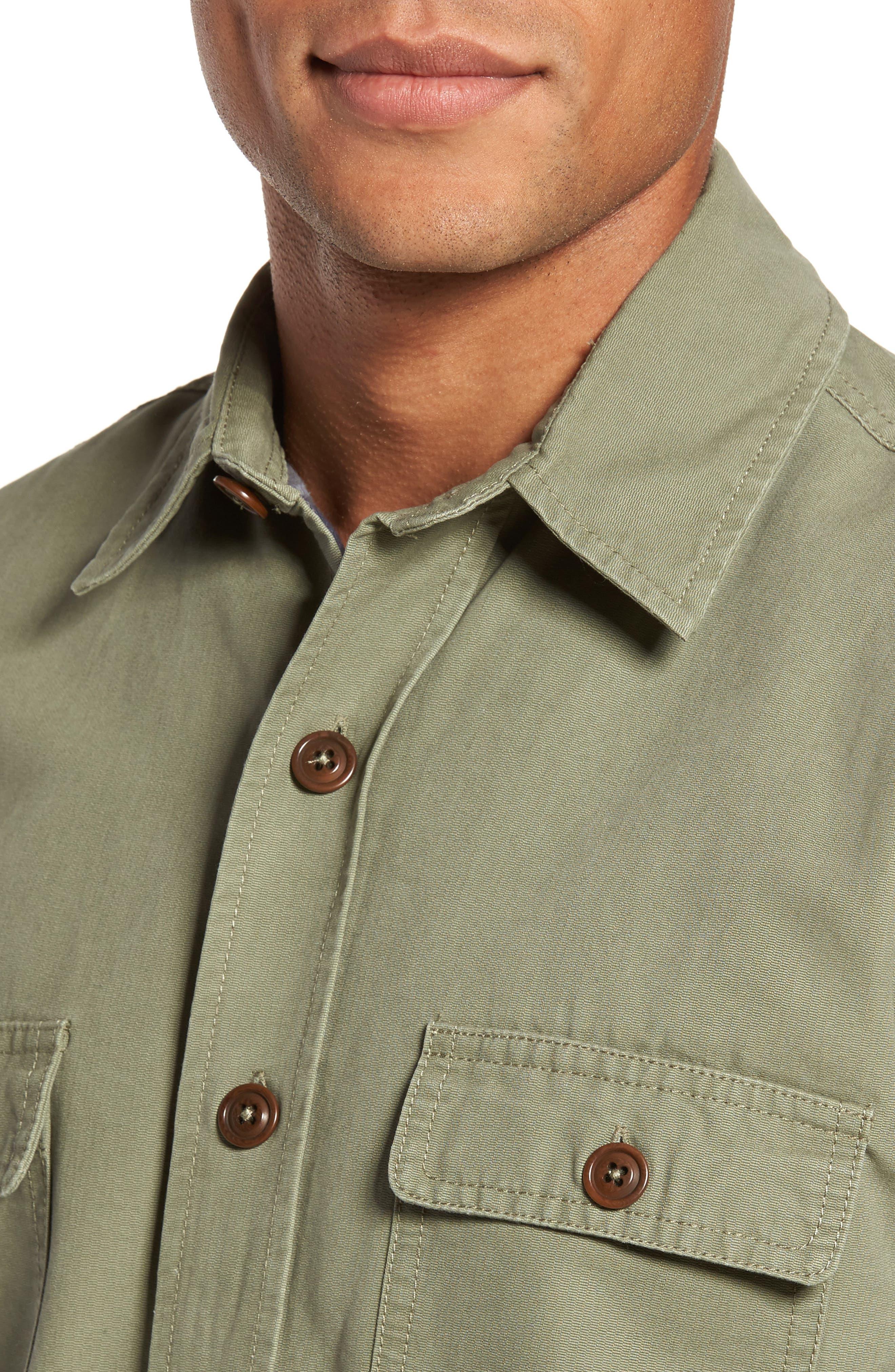 Alternate Image 4  - Faherty Blanket Lined Shirt Jacket