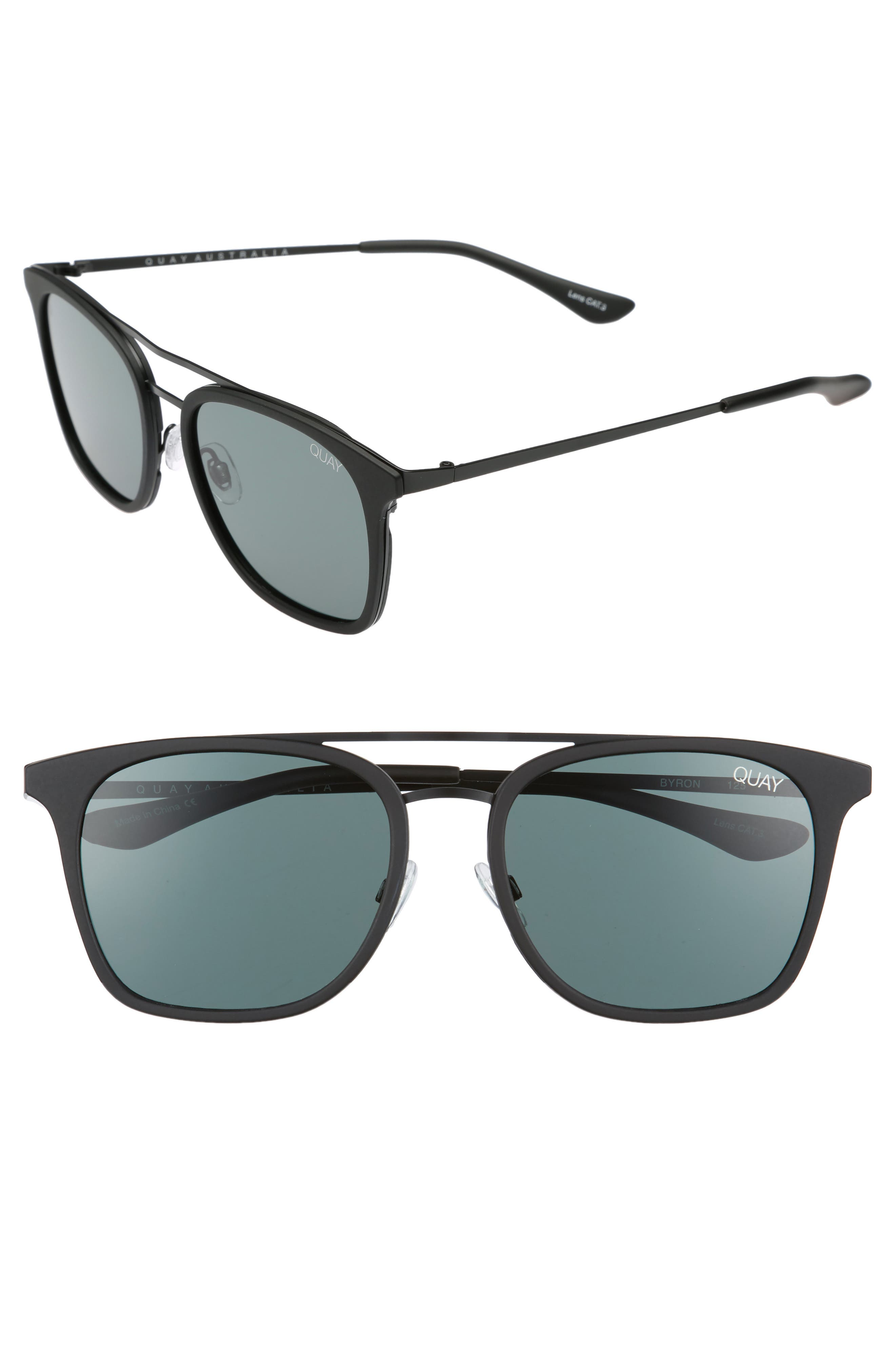 Alternate Image 1 Selected - Quay Australia Byron 50mm Sunglasses