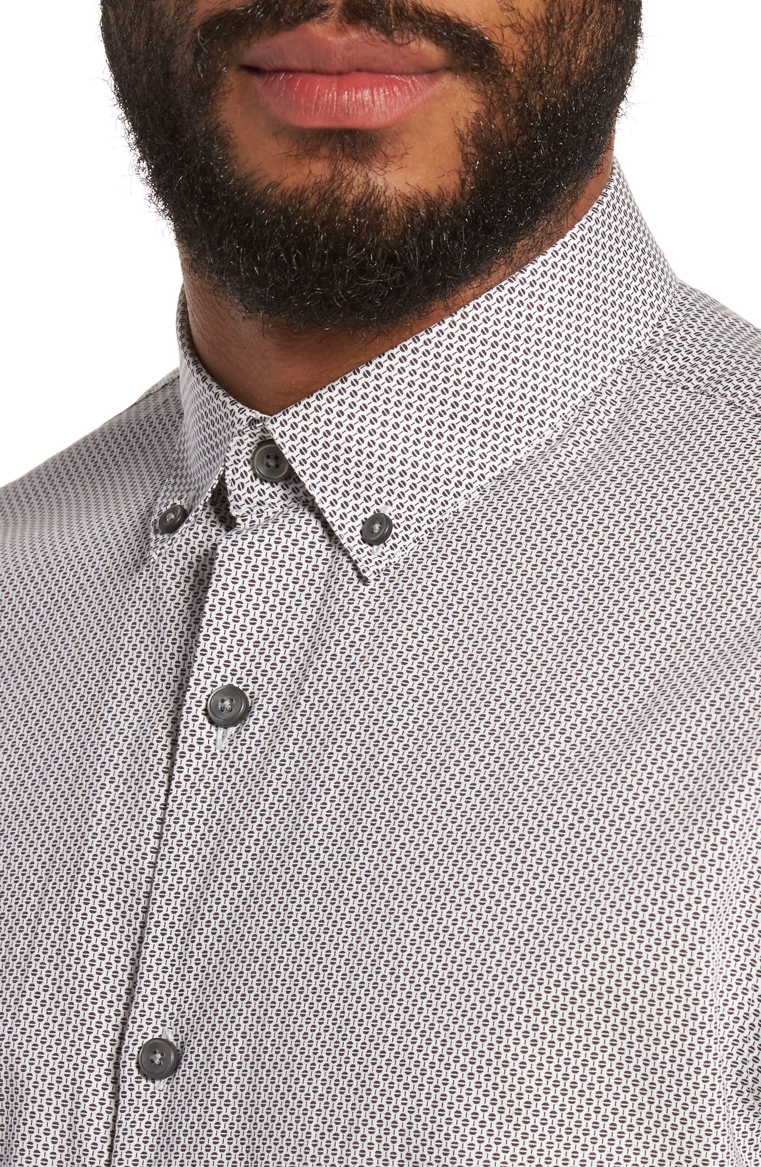 Alternate Image 4  - Calibrate Trim Fit Print Sport Shirt